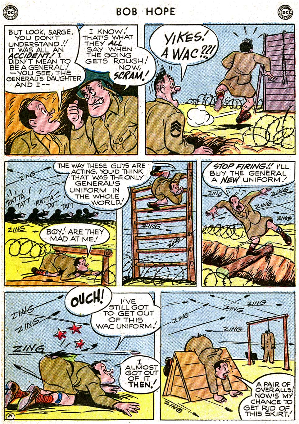 The Adventures of Bob Hope issue 8 - Page 42