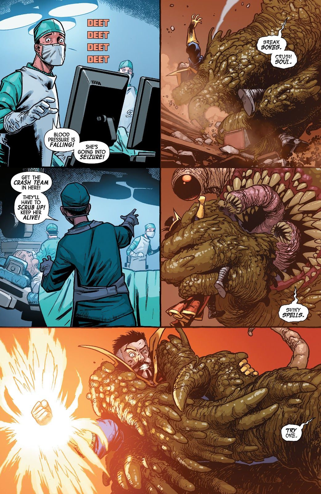 Read online Dr. Strange comic -  Issue #4 - 5