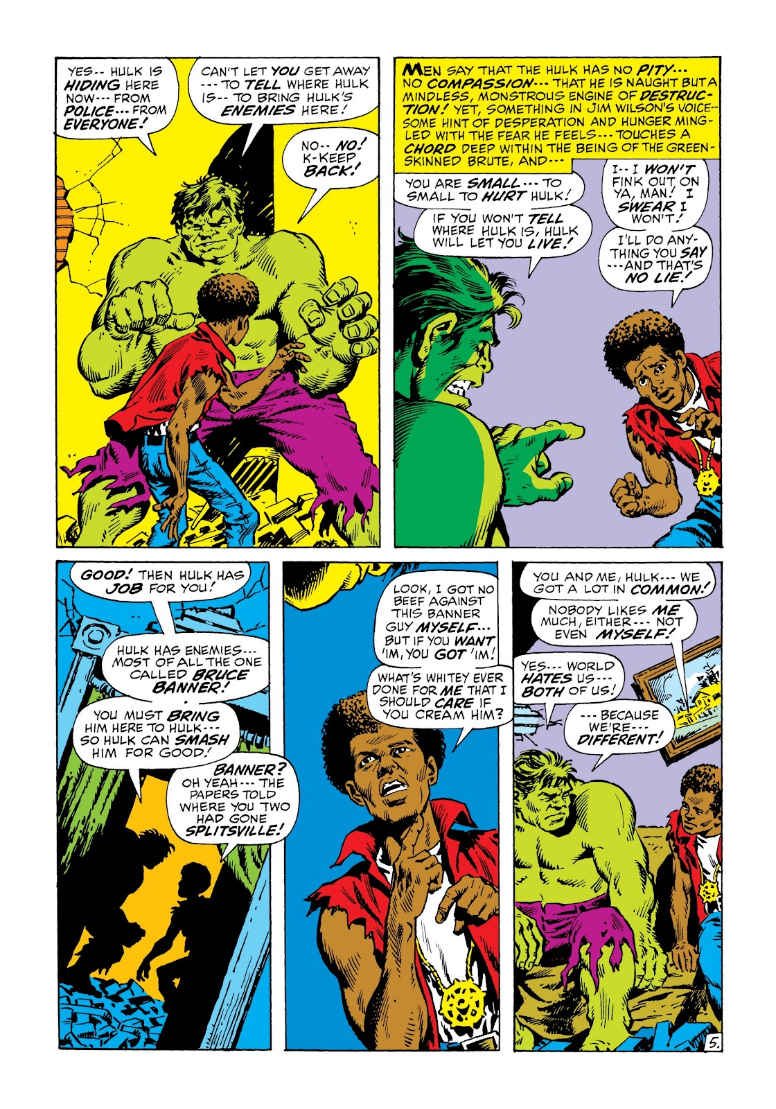 Read online Marvel Masterworks: The Incredible Hulk comic -  Issue # TPB 6 (Part 2) - 99