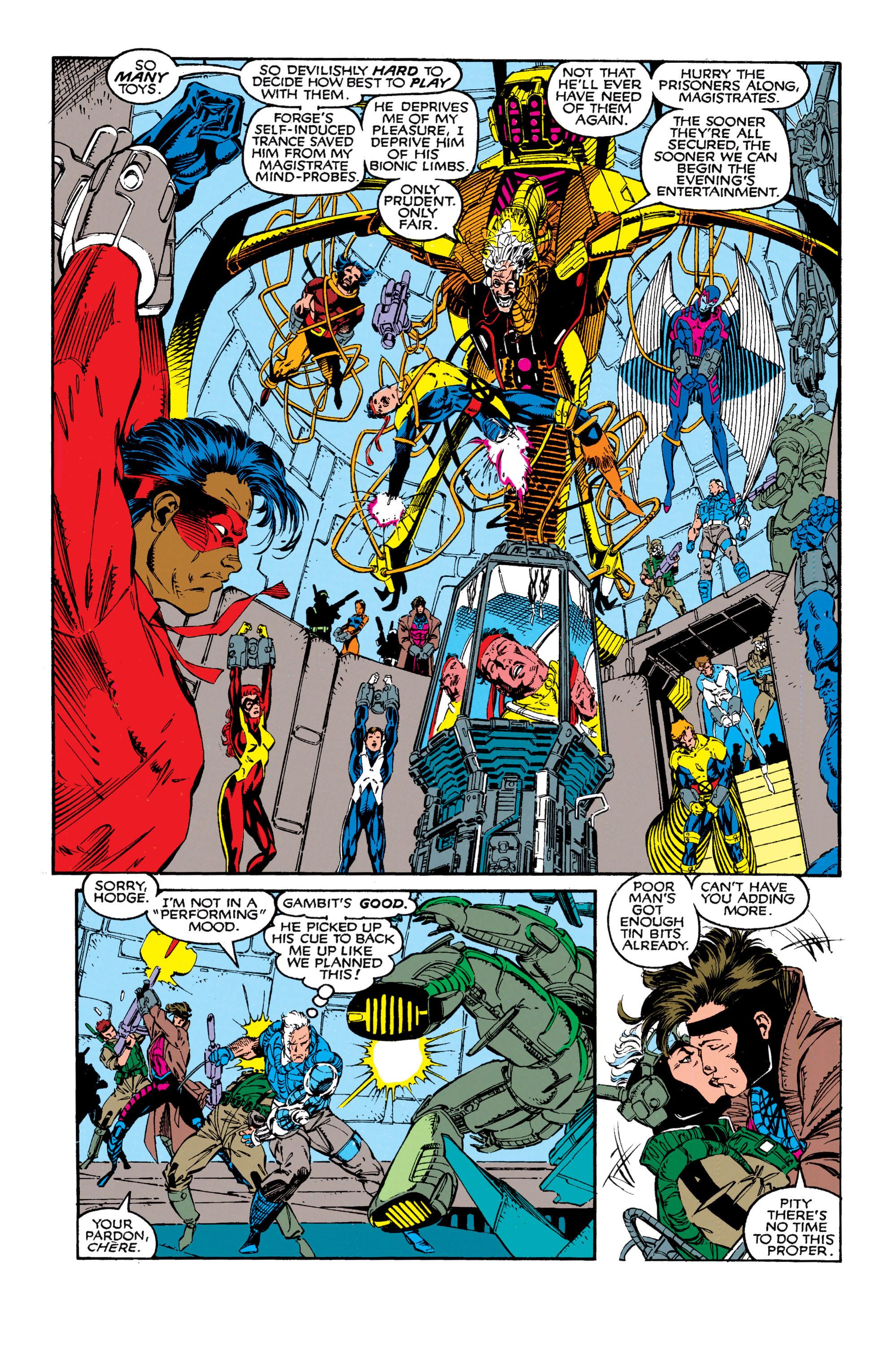 Read online Uncanny X-Men (1963) comic -  Issue #272 - 7