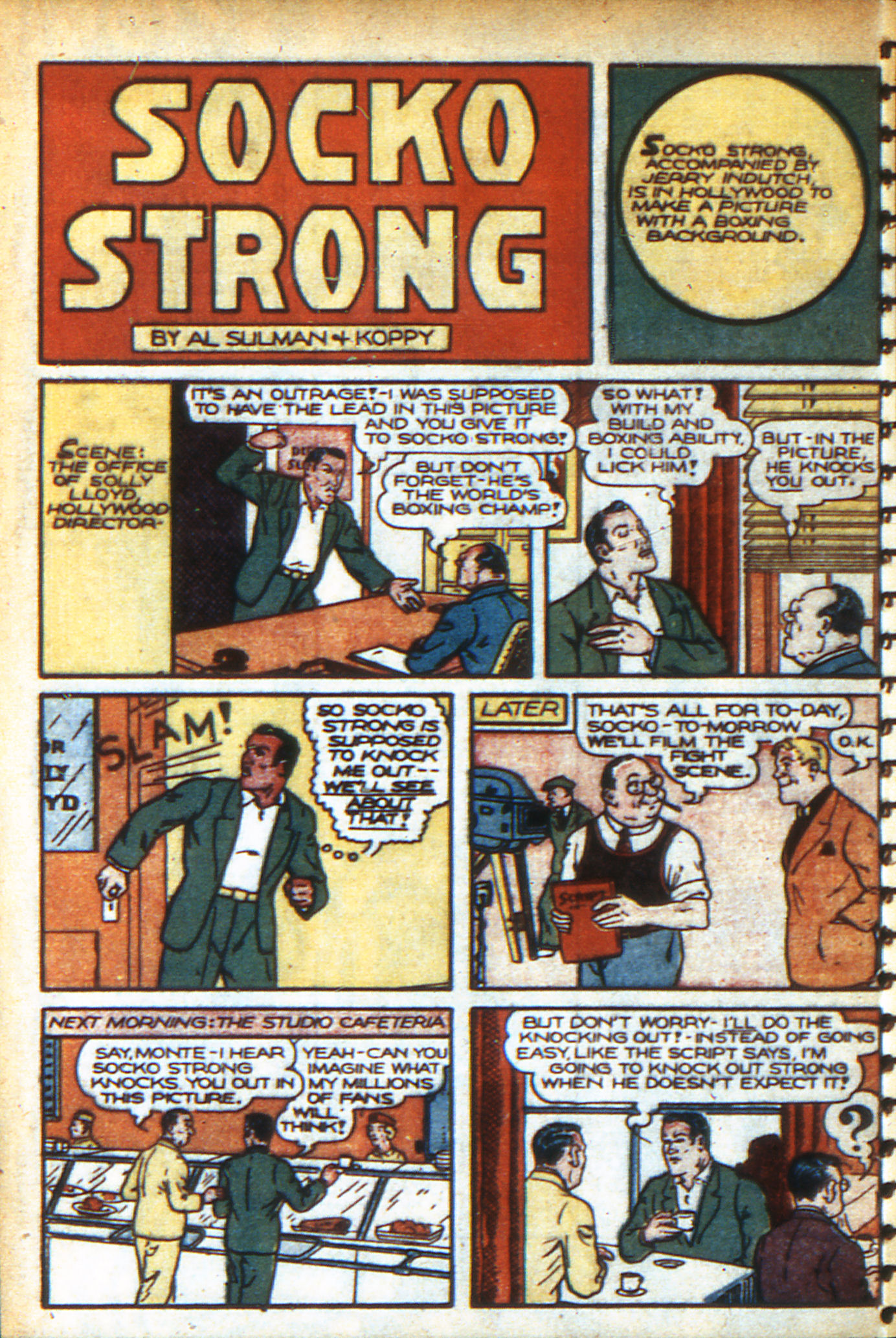 Read online Adventure Comics (1938) comic -  Issue #47 - 29