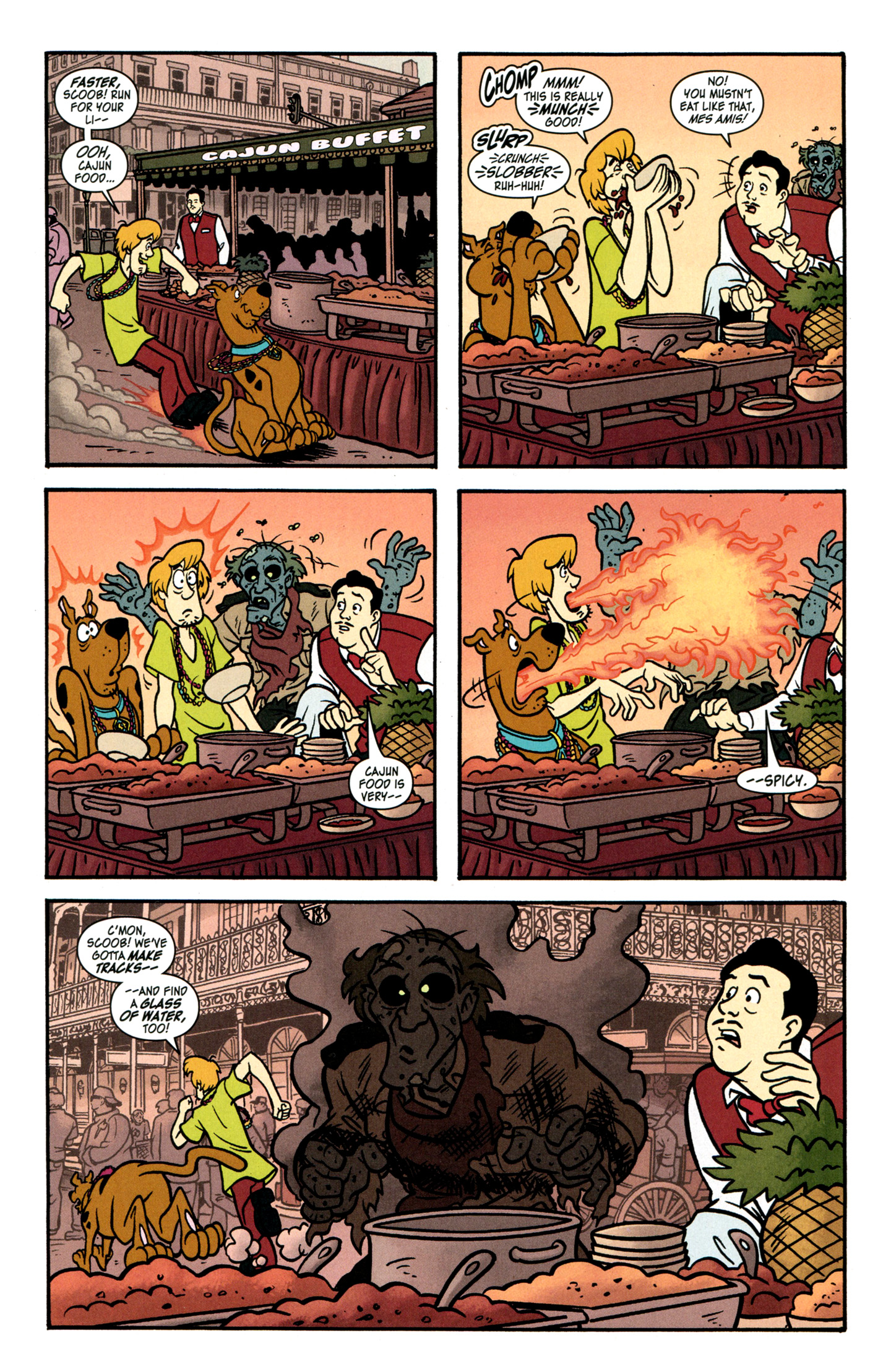 Read online Scooby-Doo: Where Are You? comic -  Issue #30 - 13