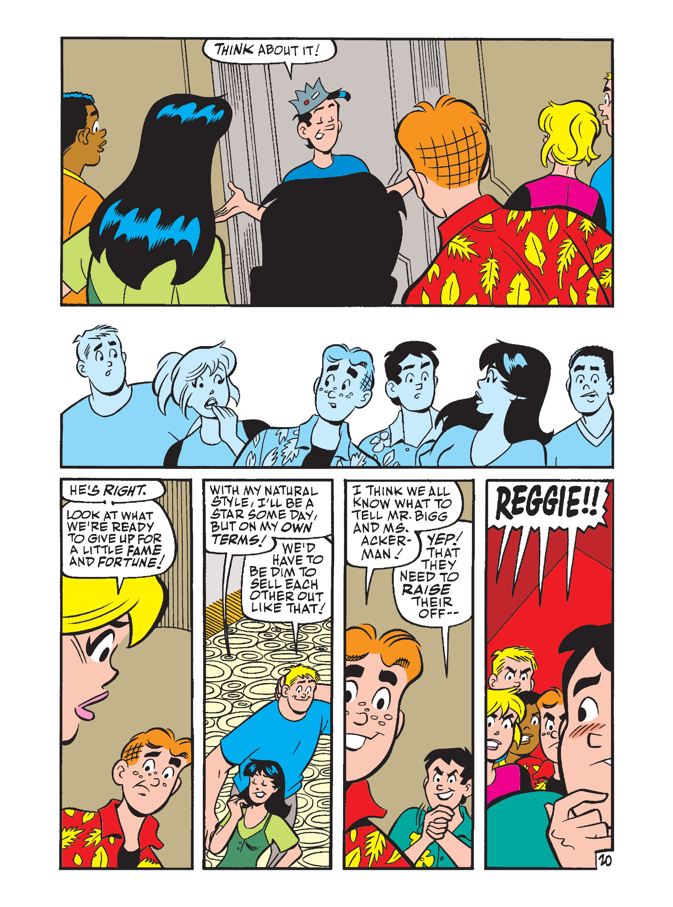 Read online Archie's Funhouse Double Digest comic -  Issue #7 - 55