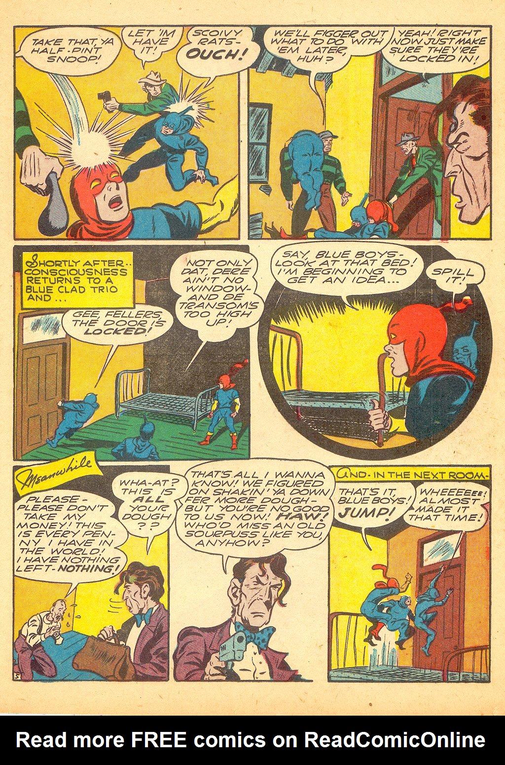 Read online Sensation (Mystery) Comics comic -  Issue #25 - 29
