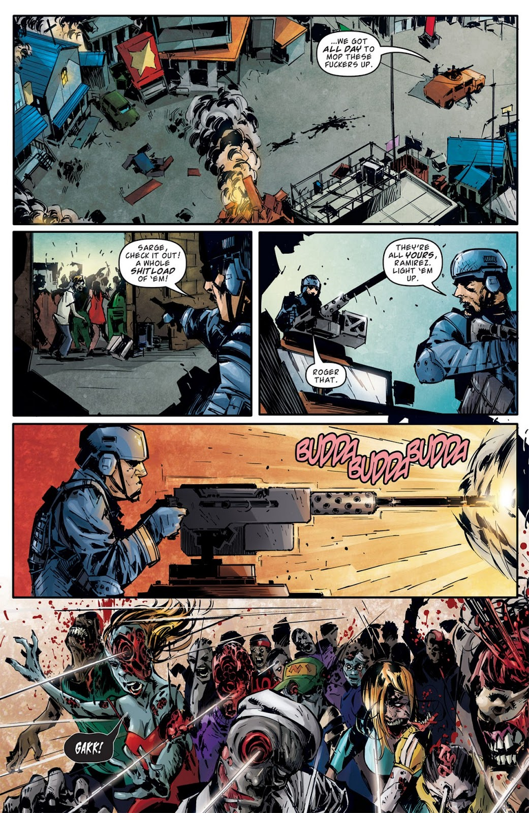 Read online Dead Rising: Road to Fortune comic -  Issue #2 - 6