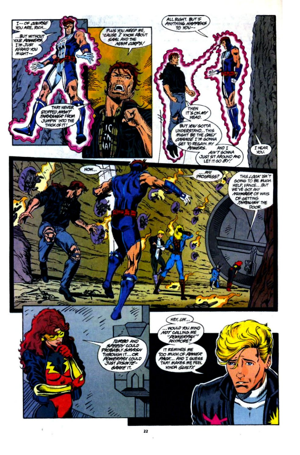The New Warriors Issue #60 #64 - English 17