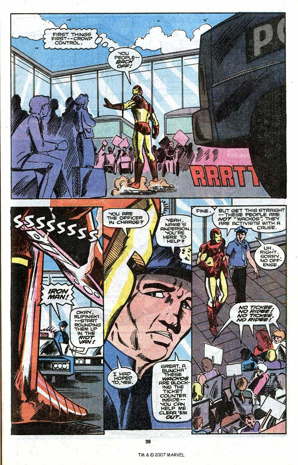 Iron Man Annual issue 11 - Page 41