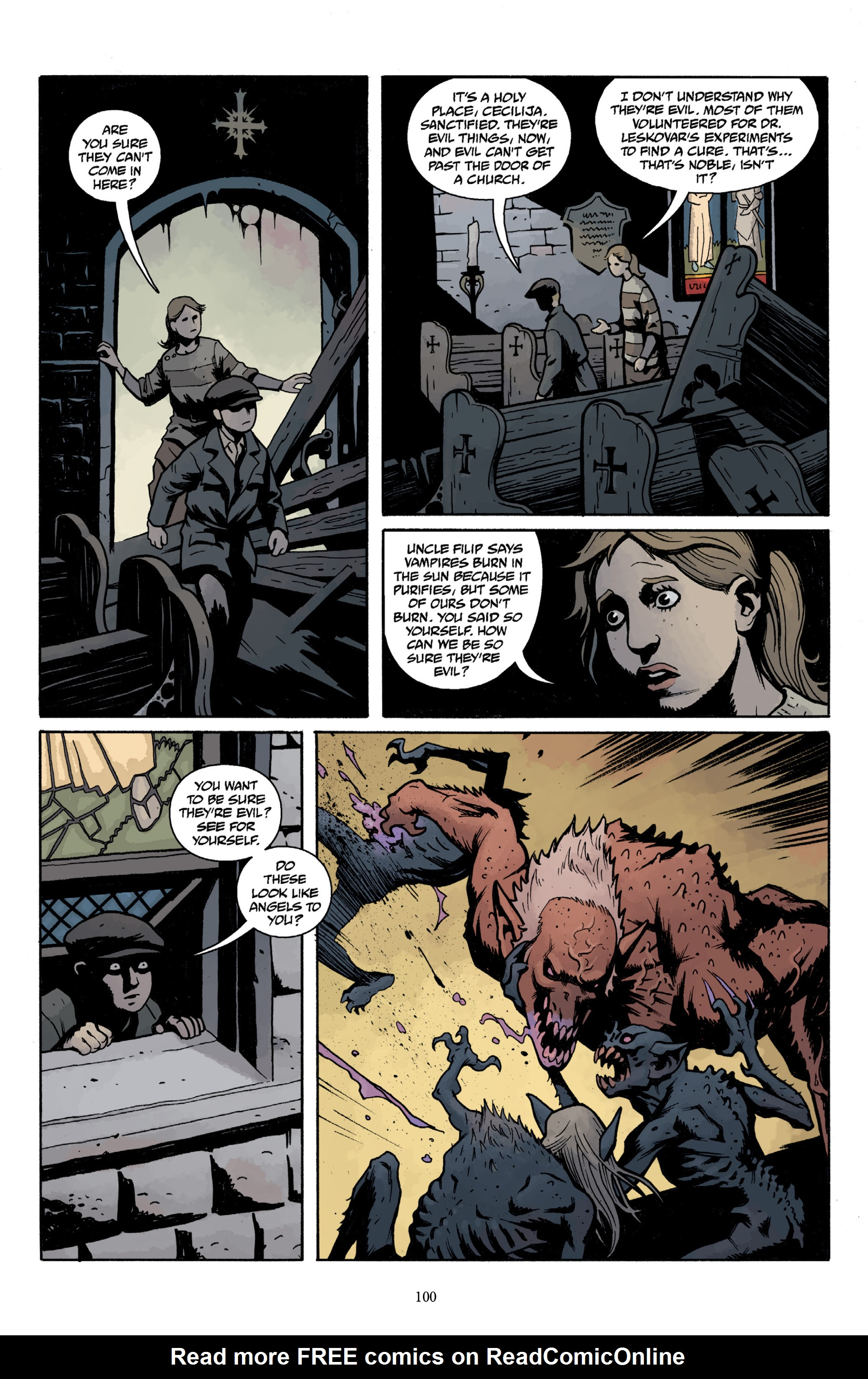 Read online Baltimore Volume 3: A Passing Stranger and Other Stories comic -  Issue # Full - 102