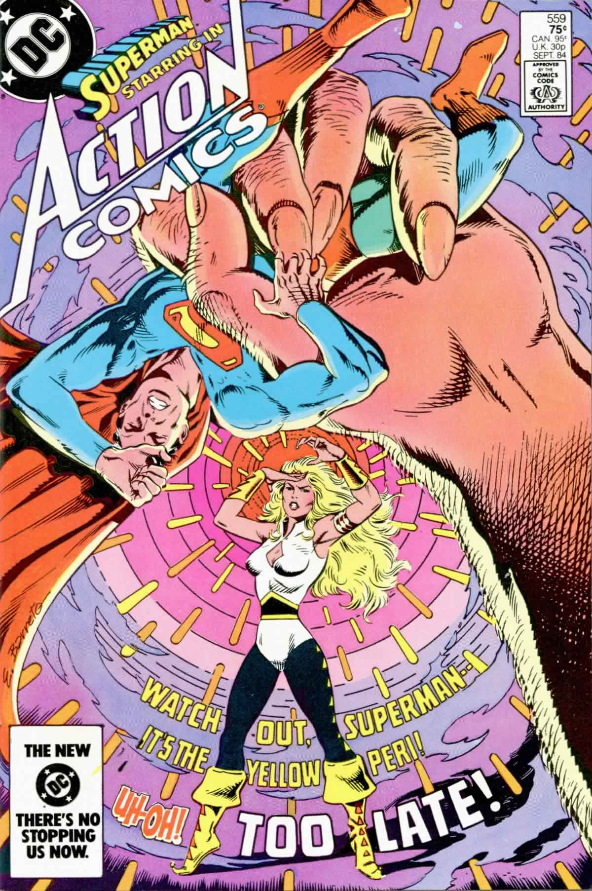 Read online Action Comics (1938) comic -  Issue #559 - 1