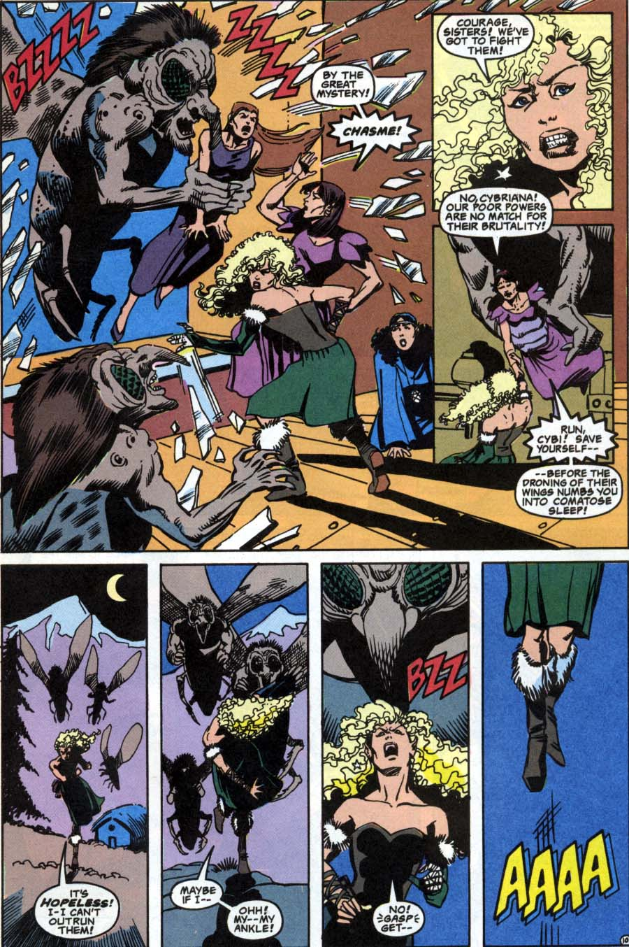 Read online Advanced Dungeons & Dragons comic -  Issue #1 - 10