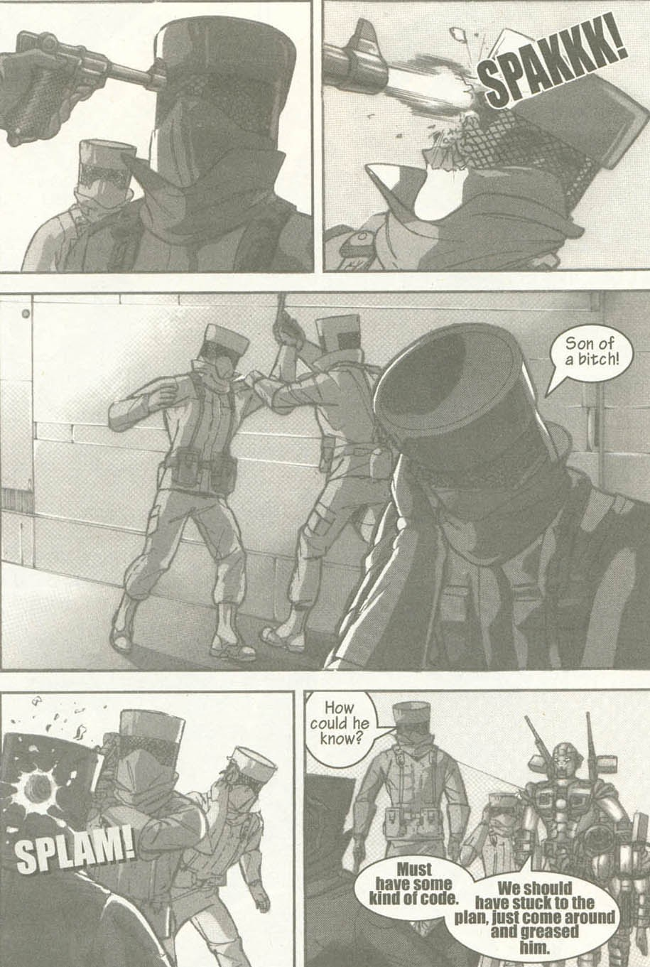 Read online U.S. War Machine comic -  Issue #6 - 25
