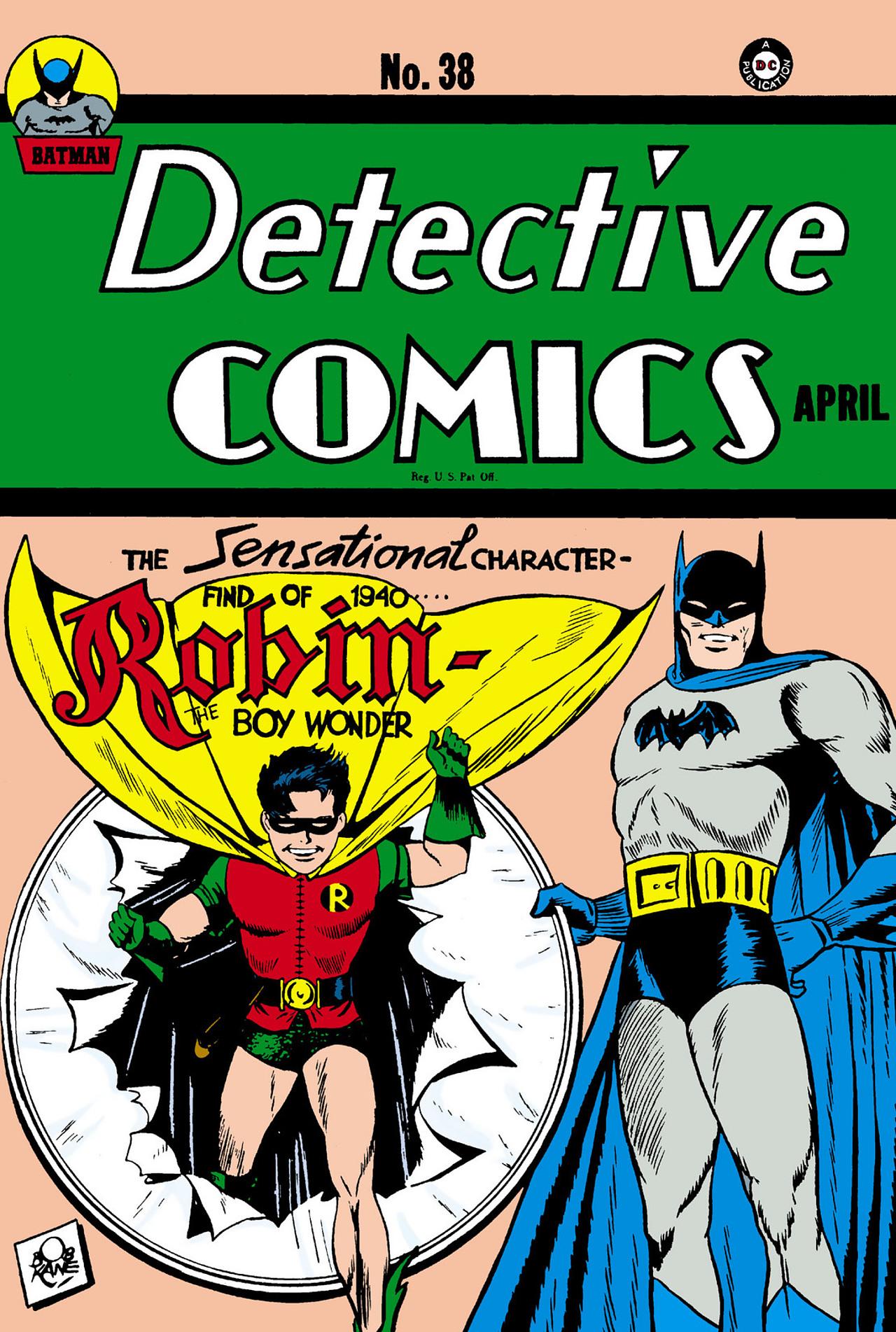 Detective Comics (1937) 38 Page 1