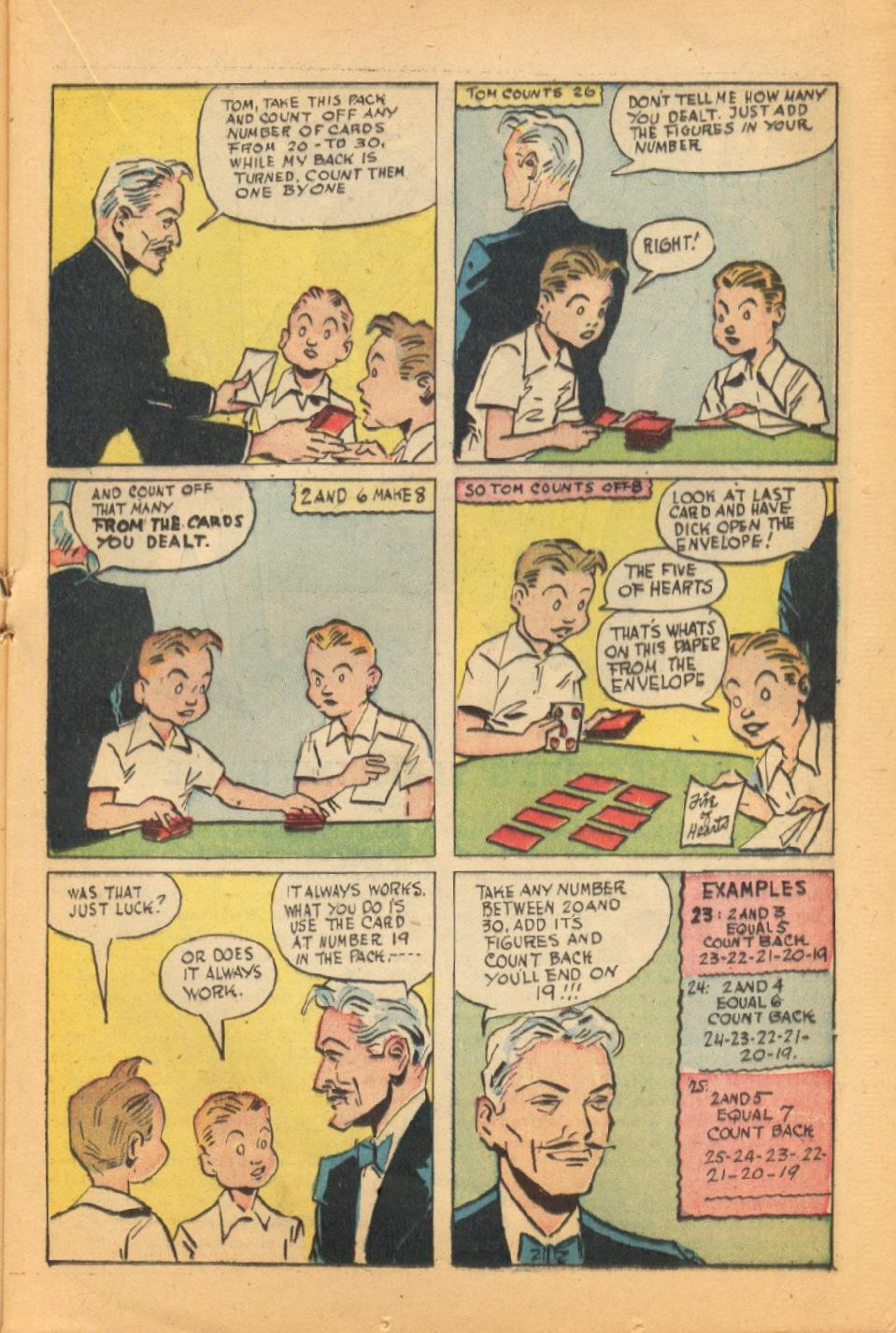 Read online Super-Magician Comics comic -  Issue #44 - 21