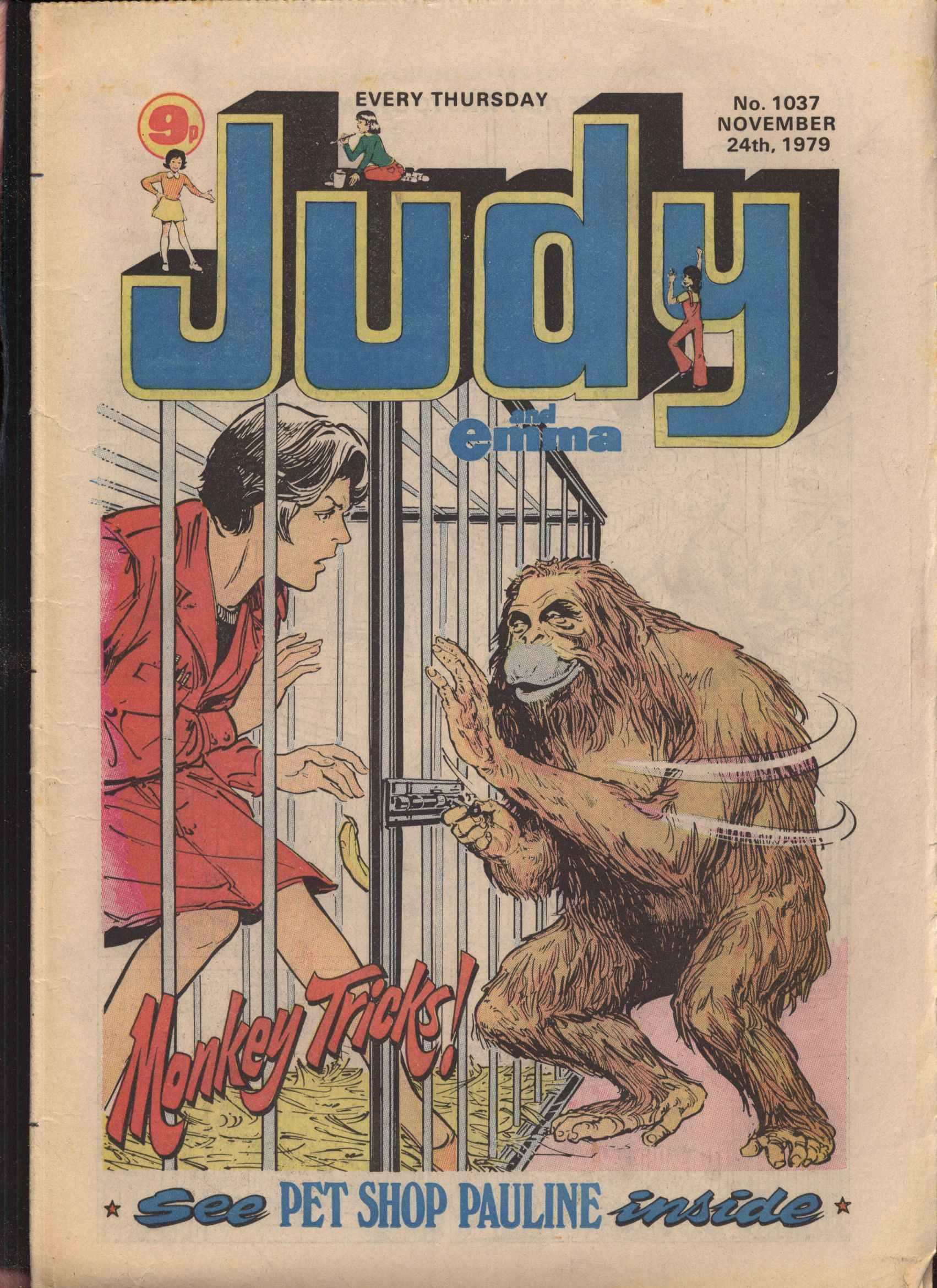Read online Judy comic -  Issue #37 - 1