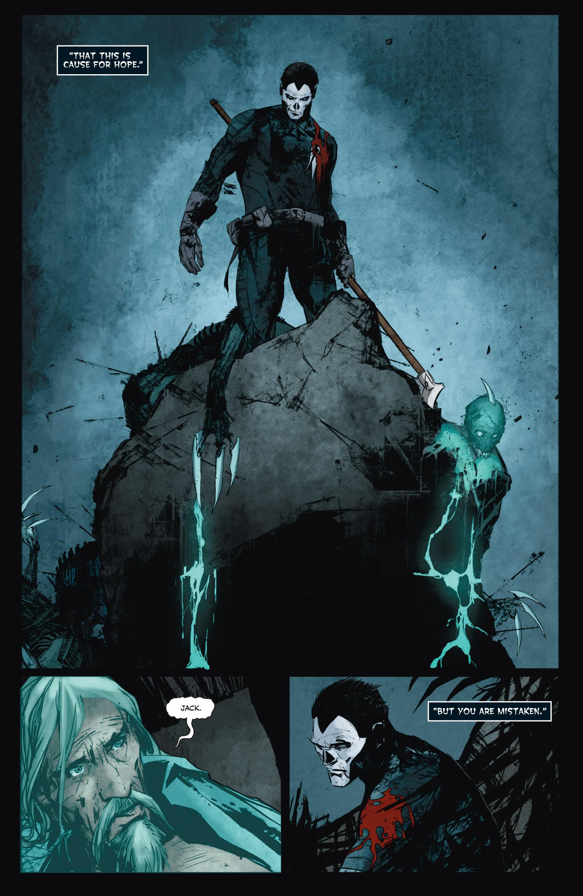 Read online Shadowman (2012) comic -  Issue #8 - 23
