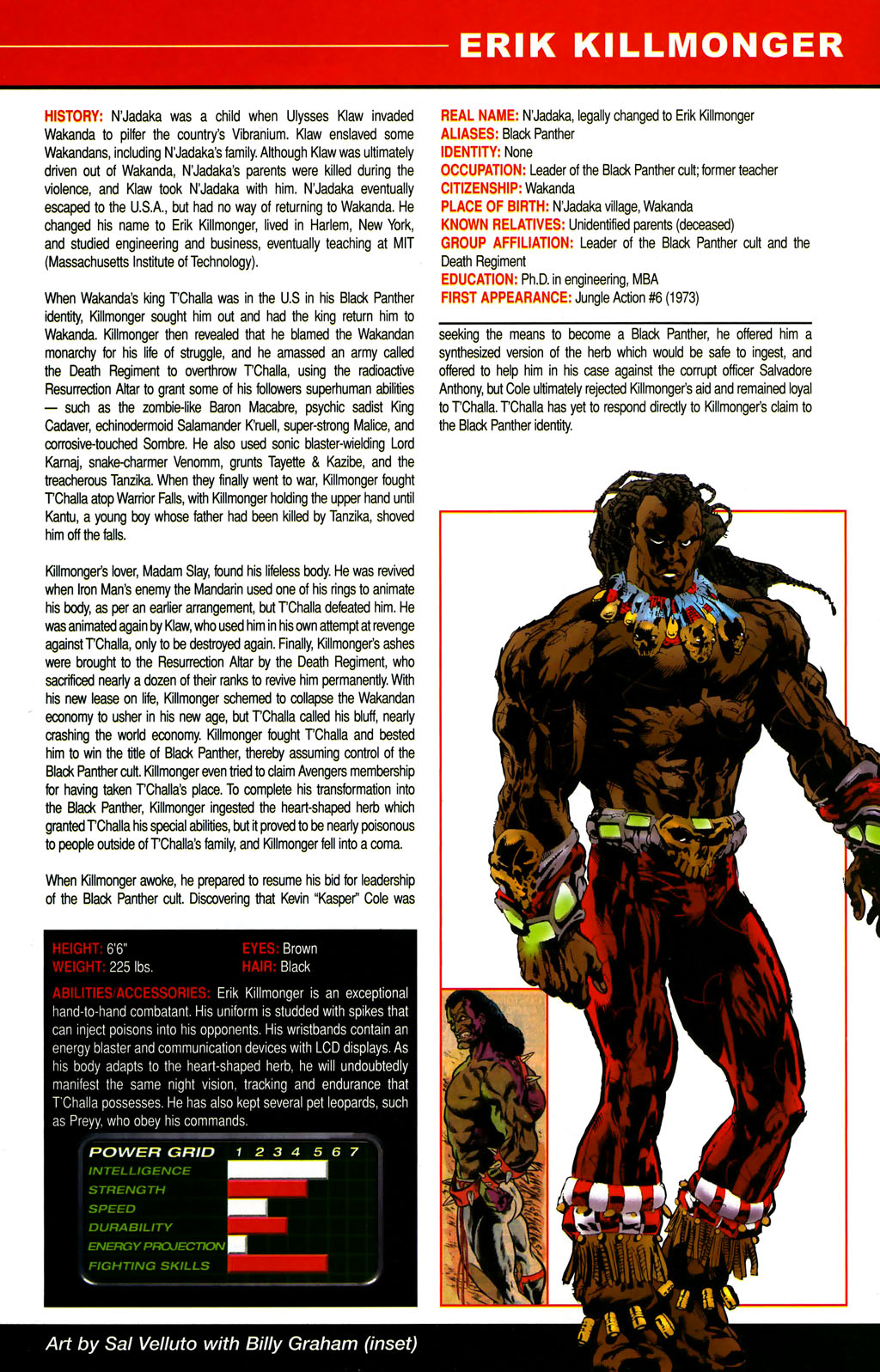 Read online All-New Official Handbook of the Marvel Universe A to Z comic -  Issue #6 - 13