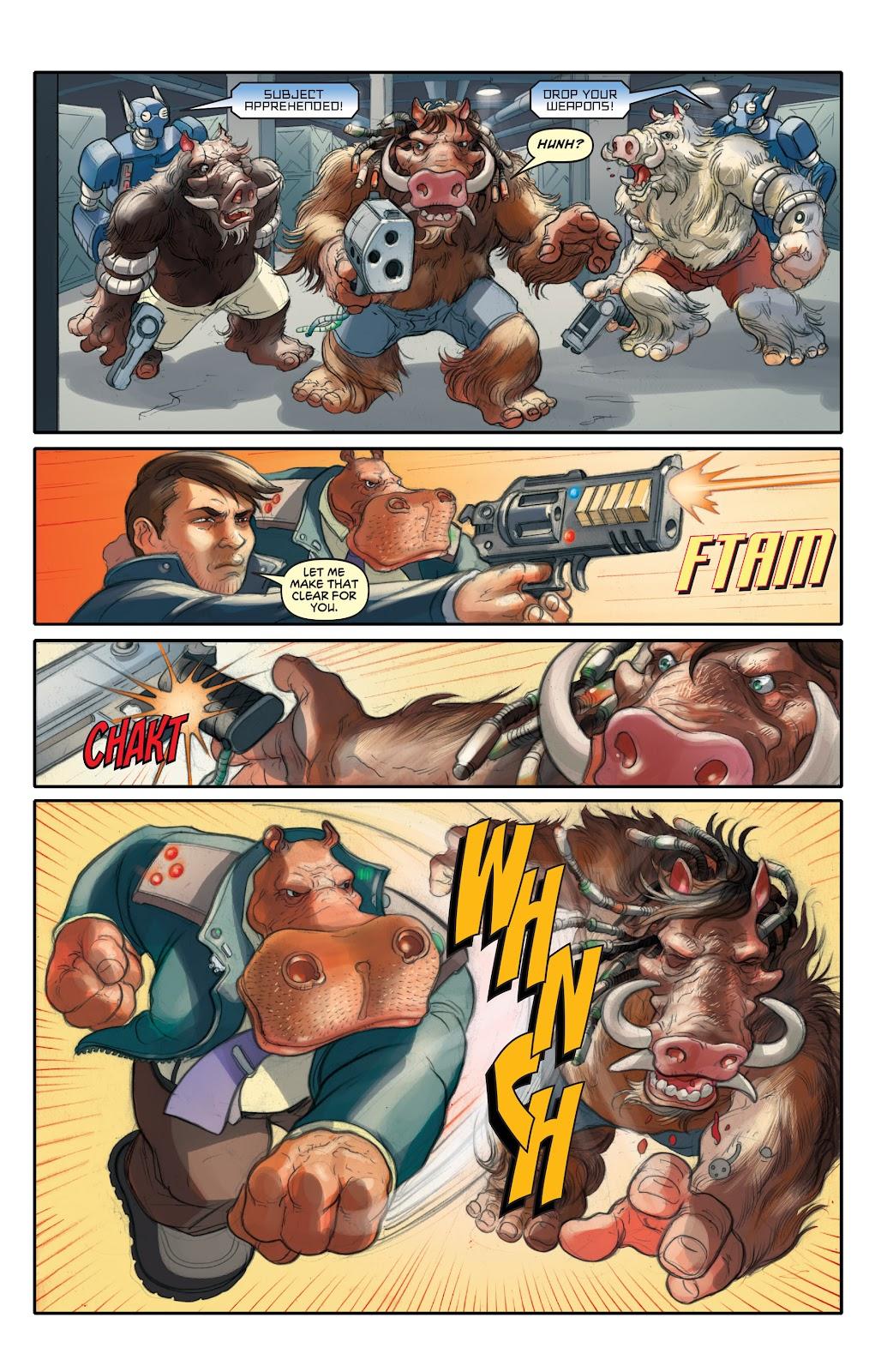 Read online Elephantmen 2261 Season Two: The Pentalion Job comic -  Issue # TPB - 10