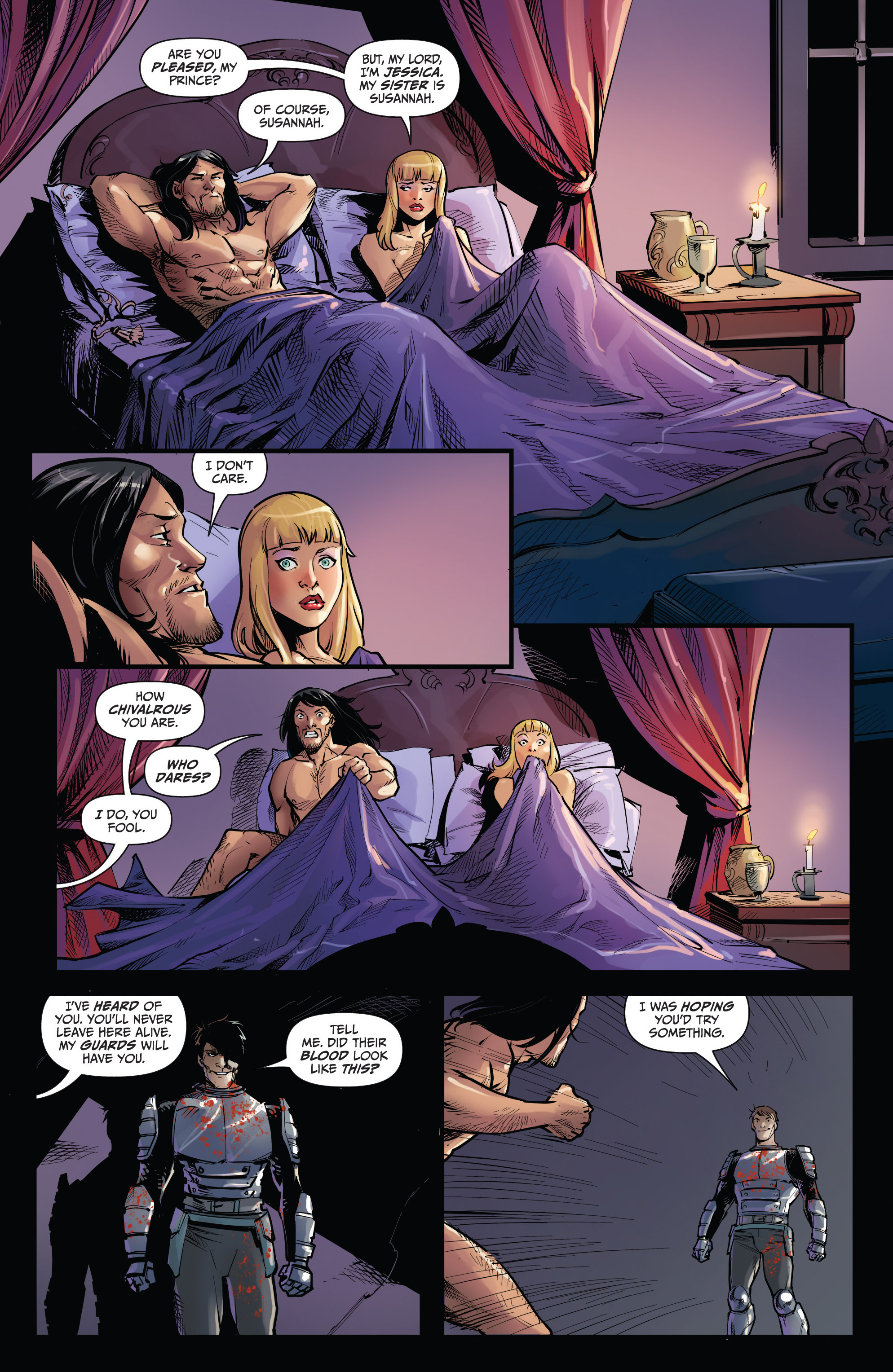 Read online Grimm Fairy Tales vs. Wonderland comic -  Issue #3 - 15