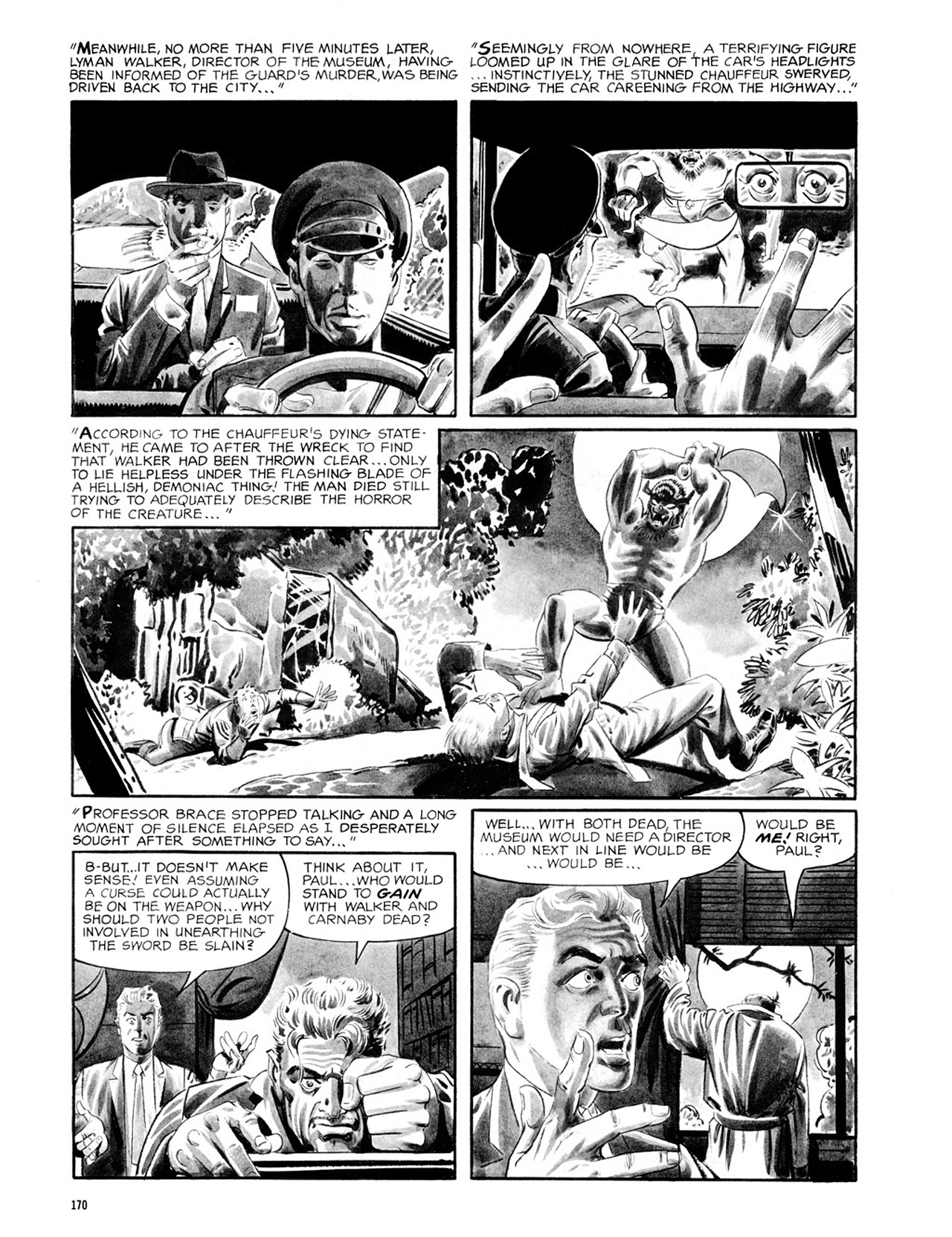 Read online Eerie Archives comic -  Issue # TPB 2 - 171