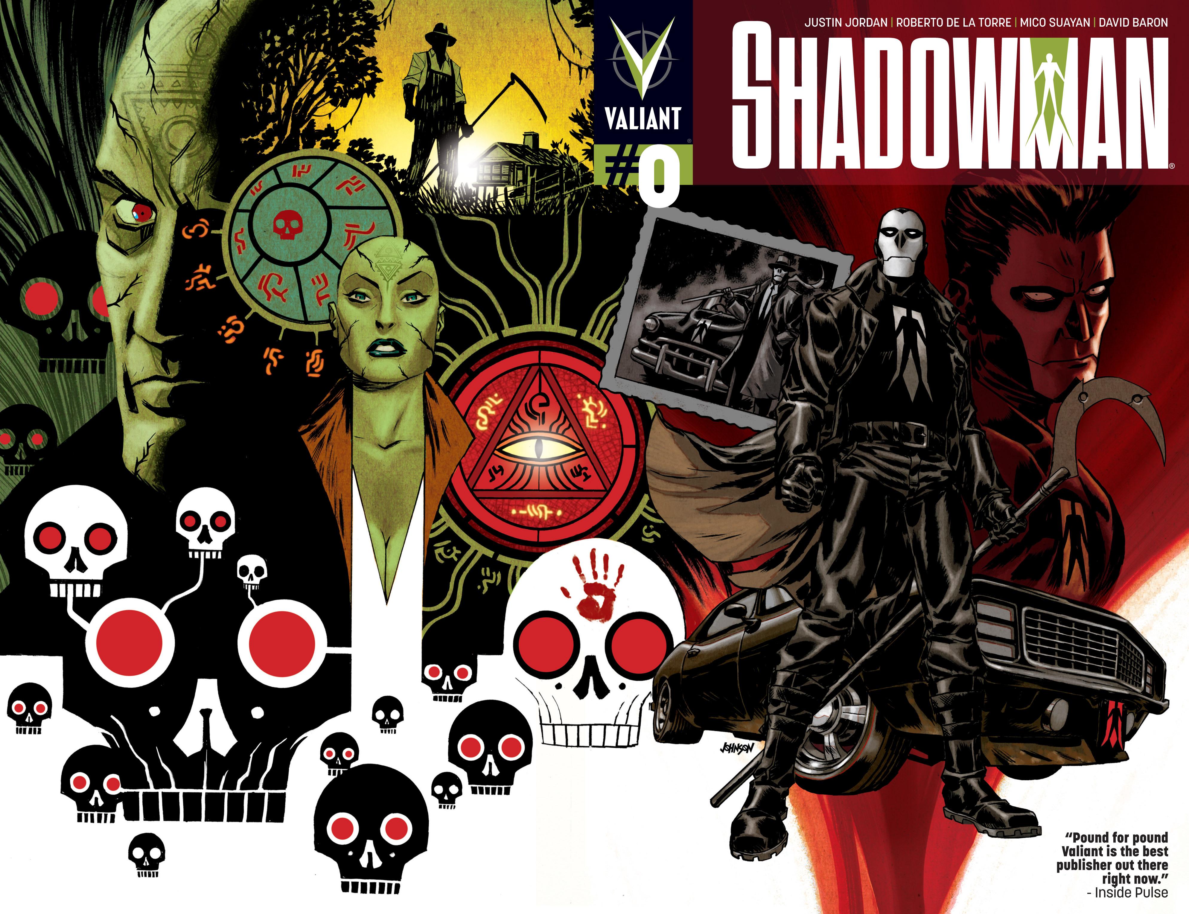 Read online Shadowman (2012) comic -  Issue #0 - 2