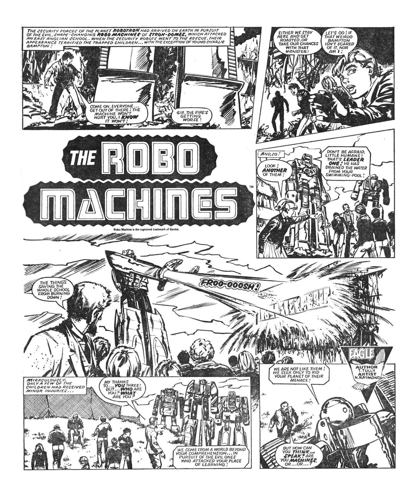 Read online Robo Machines comic -  Issue # TPB - 30