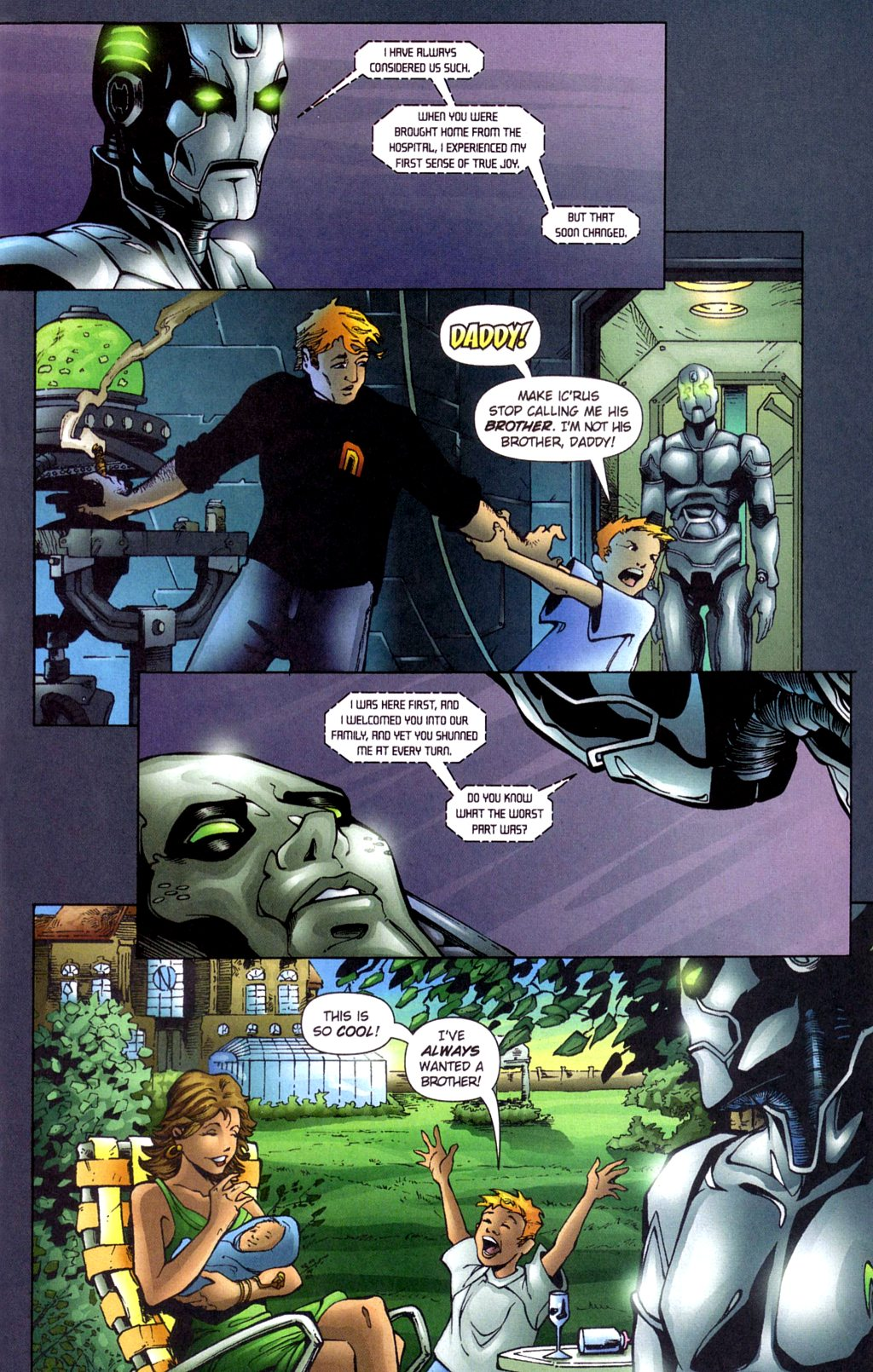 Read online Noble Causes (2002) comic -  Issue #4 - 22