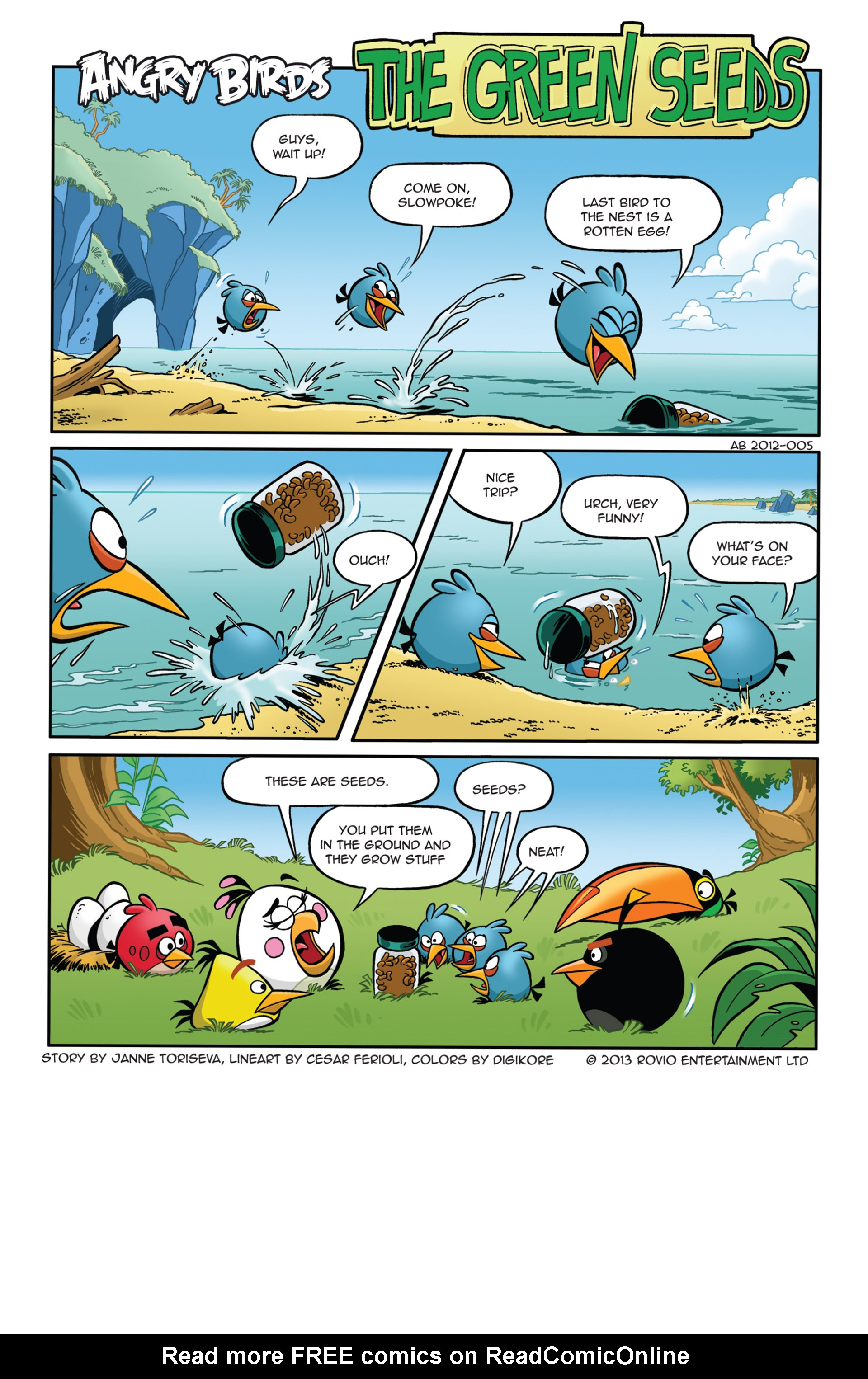 Read online Angry Birds Comics (2014) comic -  Issue #5 - 3