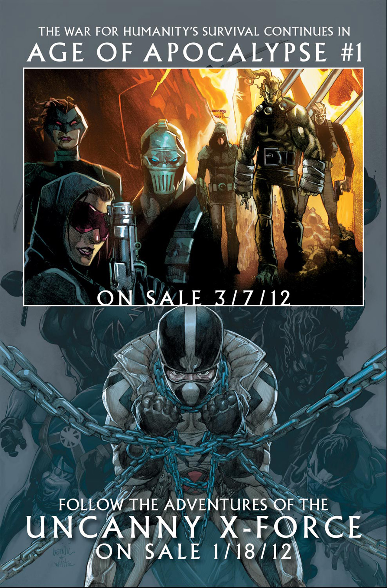 Read online Uncanny X-Force (2010) comic -  Issue #19.1 - 22