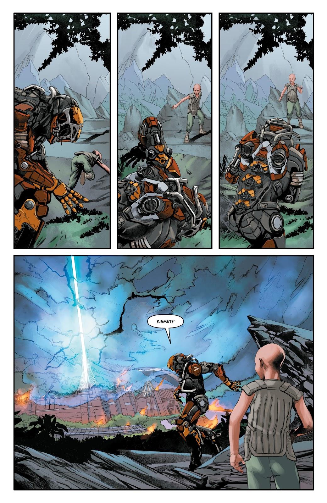 Read online Anthem comic -  Issue #3 - 15