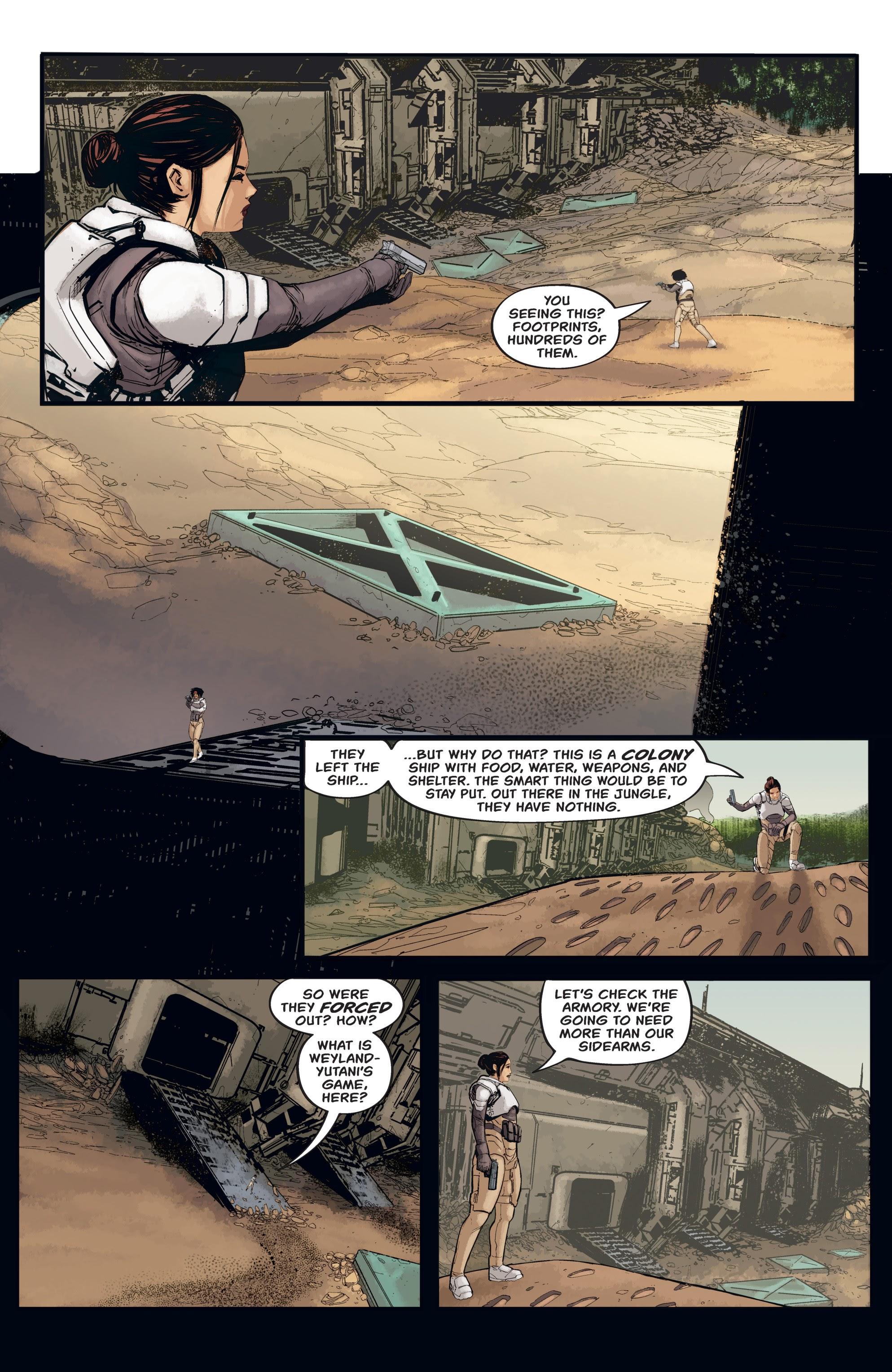 Read online Aliens: Resistance comic -  Issue # _TPB - 57