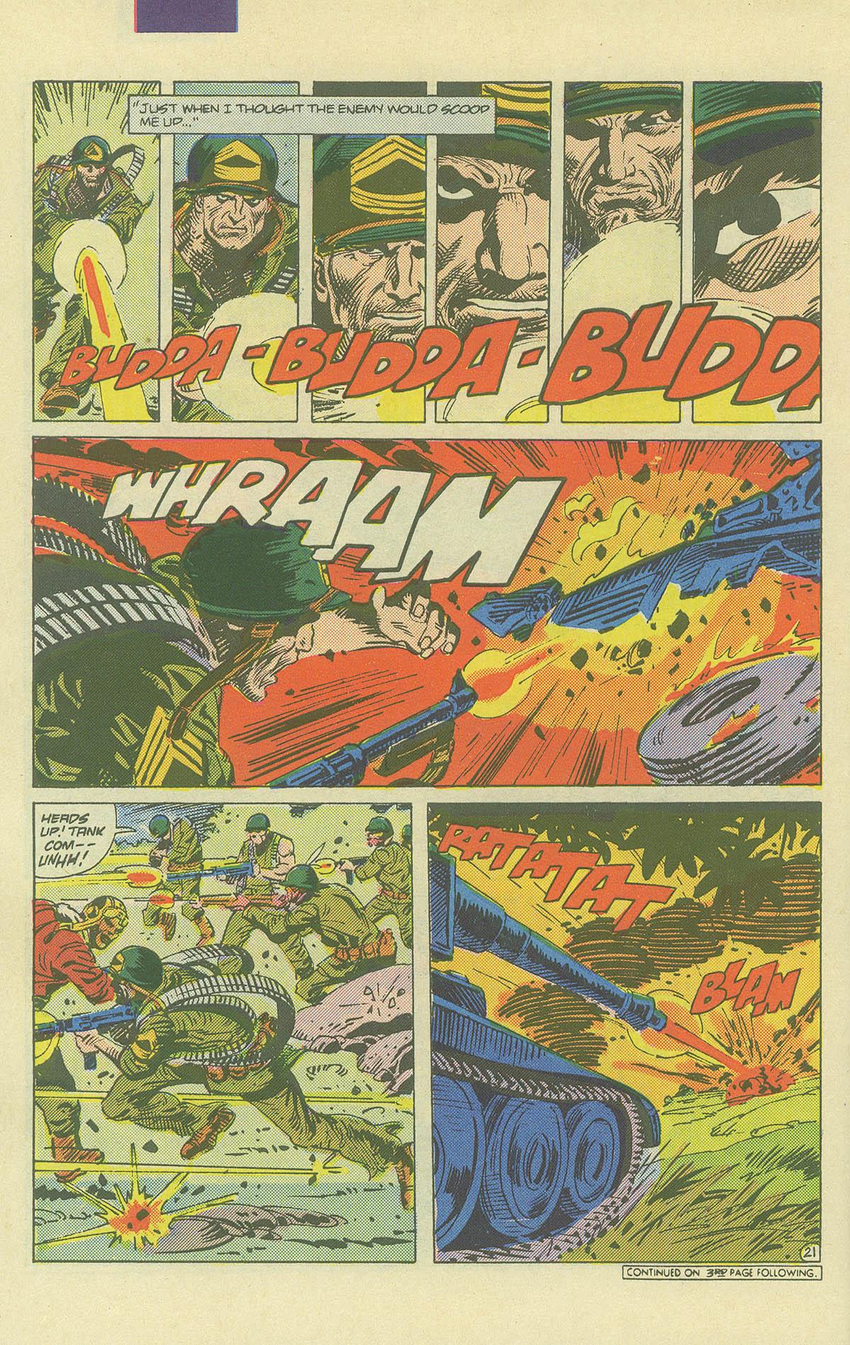 Read online Sgt. Rock comic -  Issue #406 - 27