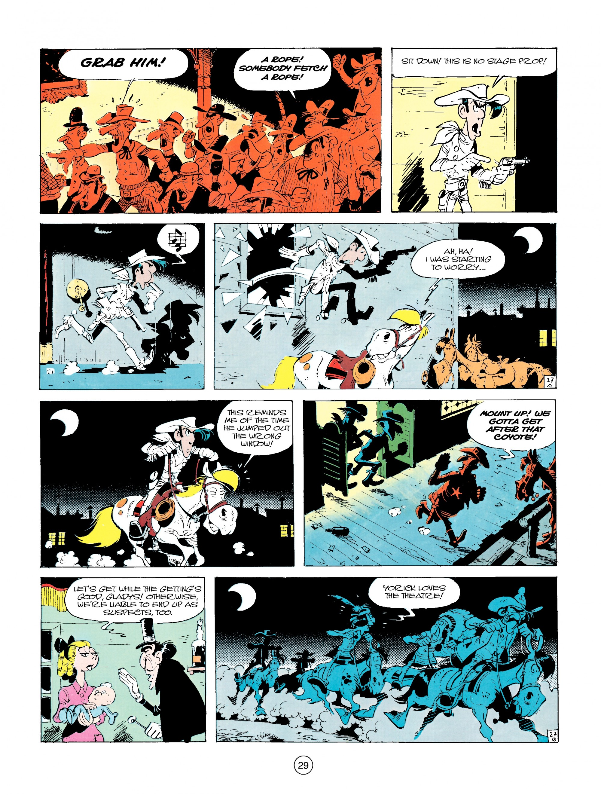 Read online A Lucky Luke Adventure comic -  Issue #14 - 29