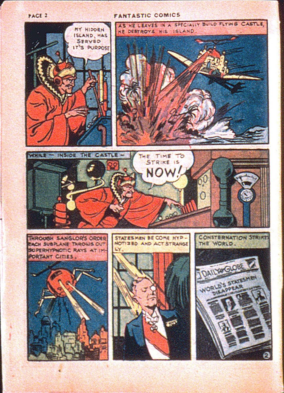 Read online Fantastic Comics comic -  Issue #7 - 4
