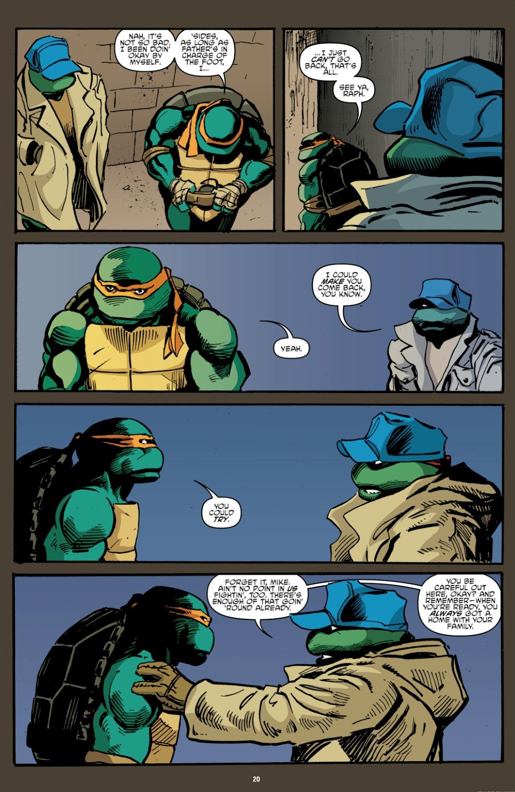 Read online Teenage Mutant Ninja Turtles: The IDW Collection comic -  Issue # TPB 7 (Part 1) - 20