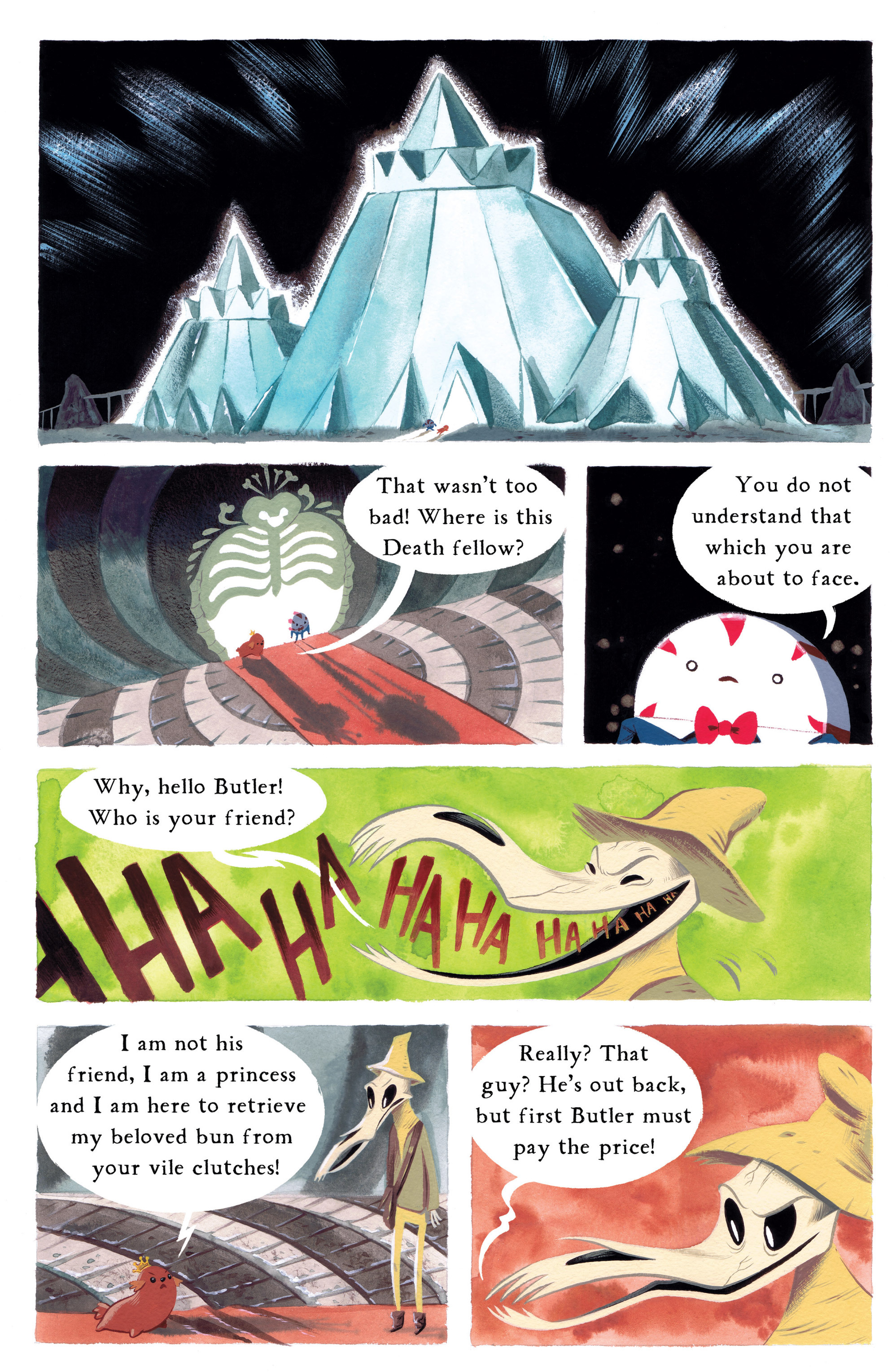 Read online Adventure Time comic -  Issue #8 - 25