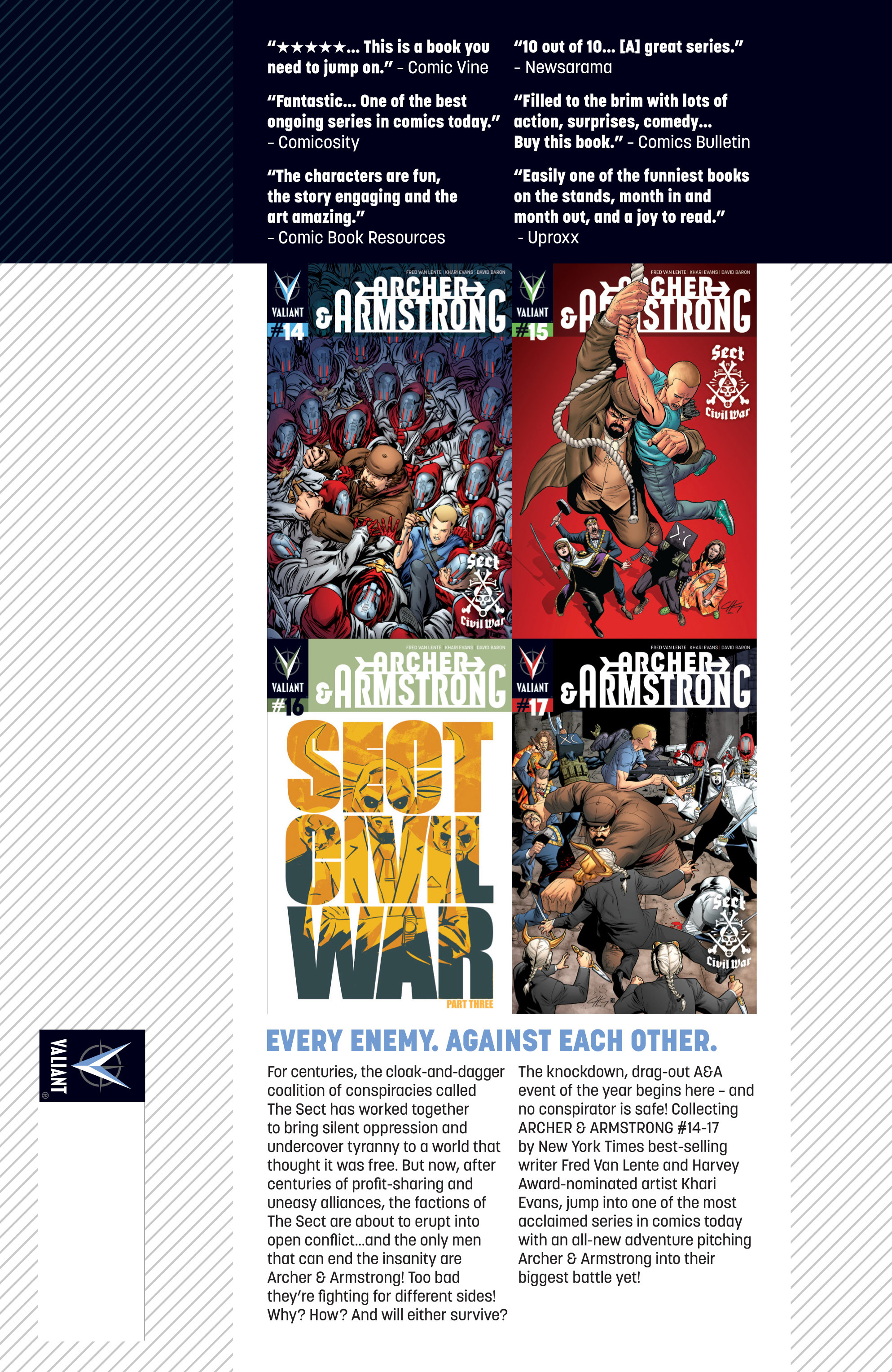Read online Archer and Armstrong comic -  Issue #Archer and Armstrong _TPB 4 - 105