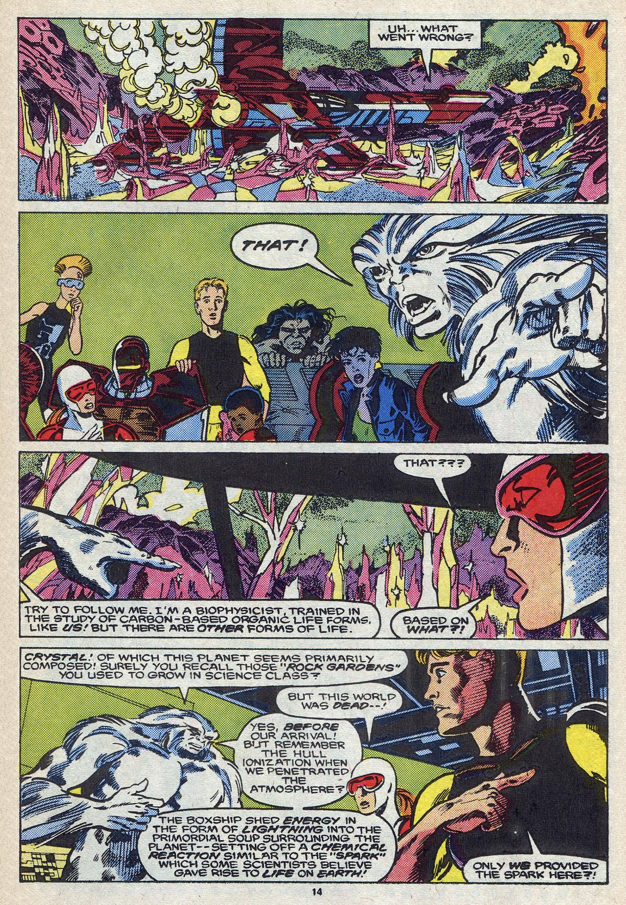 Read online Alpha Flight (1983) comic -  Issue #57 - 20