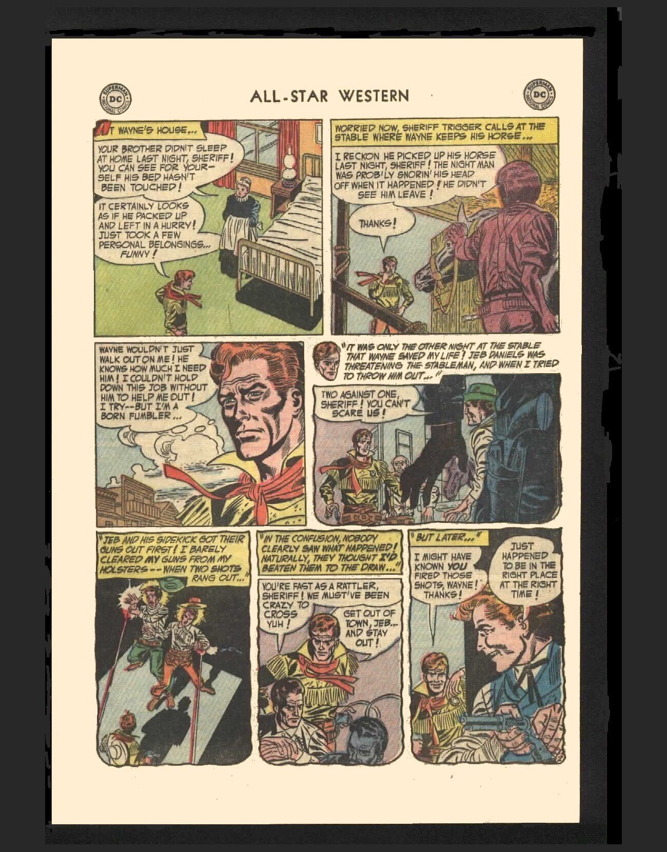 Read online All-Star Western (1951) comic -  Issue #72 - 29