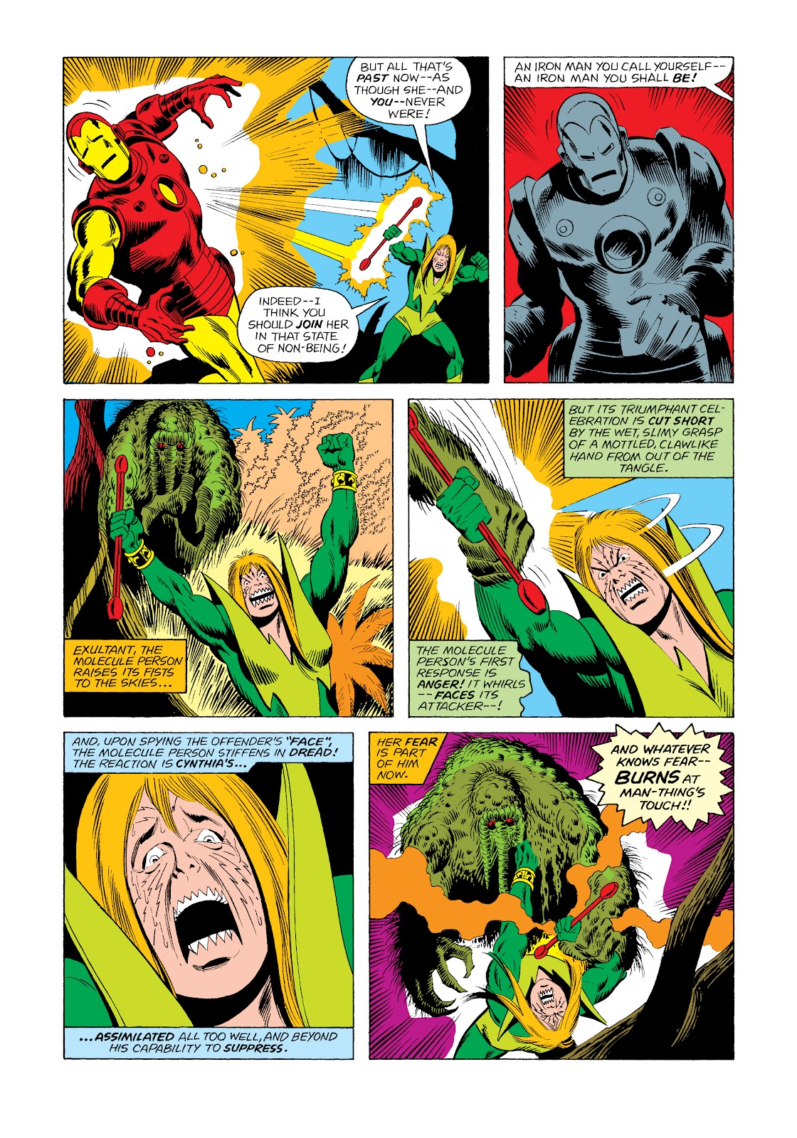 Read online Marvel Masterworks: The Invincible Iron Man comic -  Issue # TPB 11 (Part 2) - 51