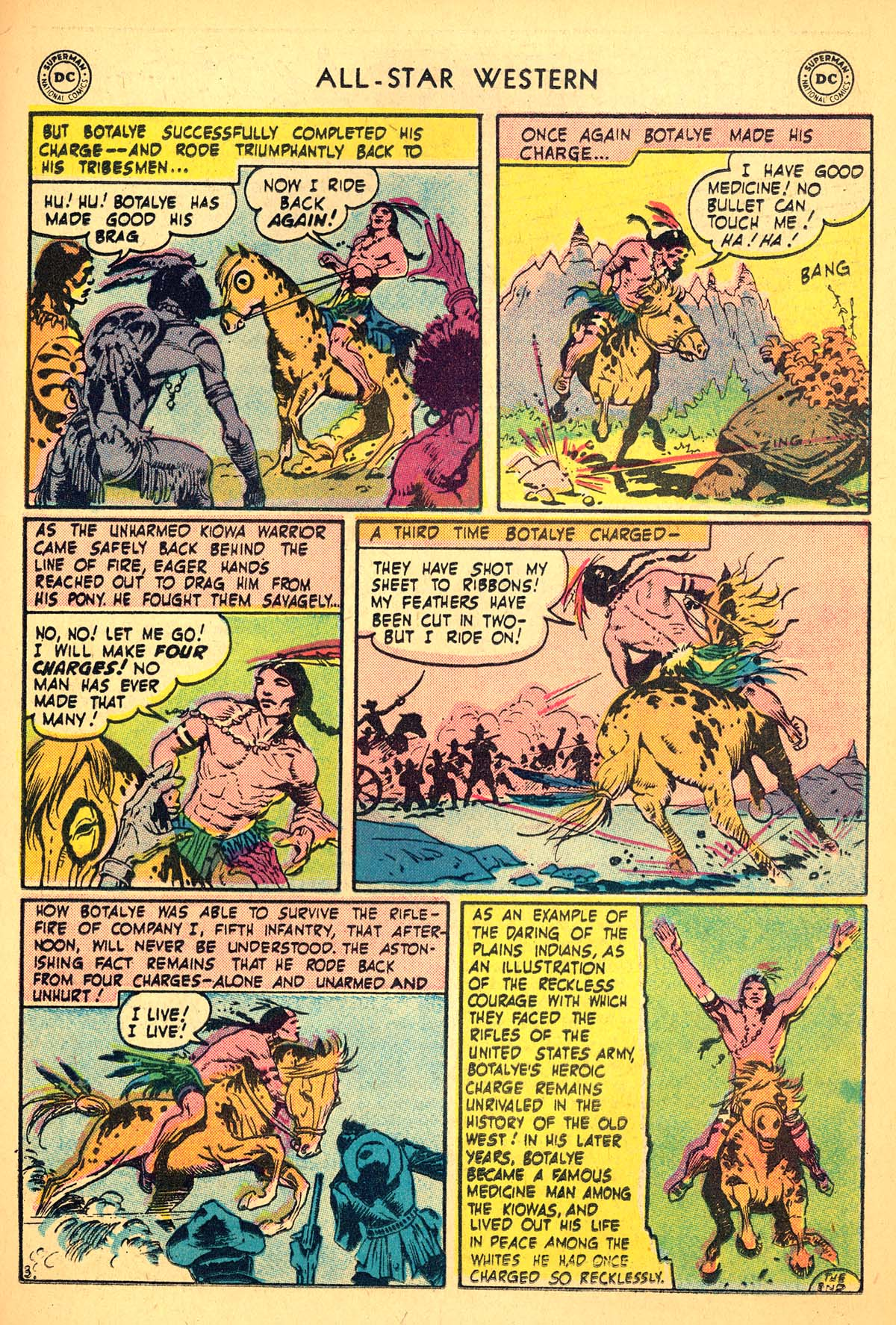 Read online All-Star Western (1951) comic -  Issue #99 - 19