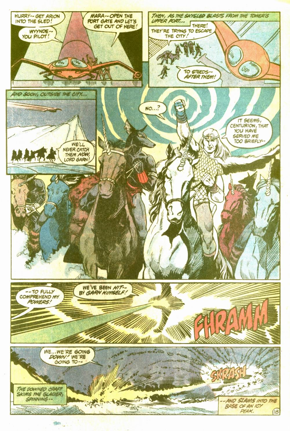 Read online Arion, Lord of Atlantis comic -  Issue #5 - 18