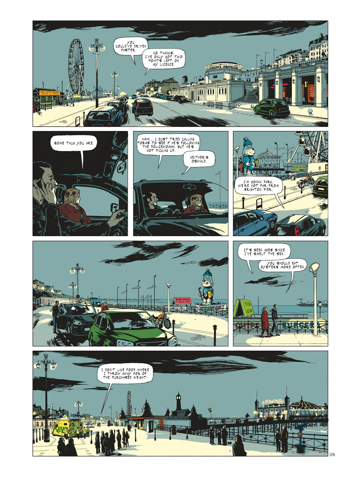 Read online Maggy Garrisson comic -  Issue #1 - 40