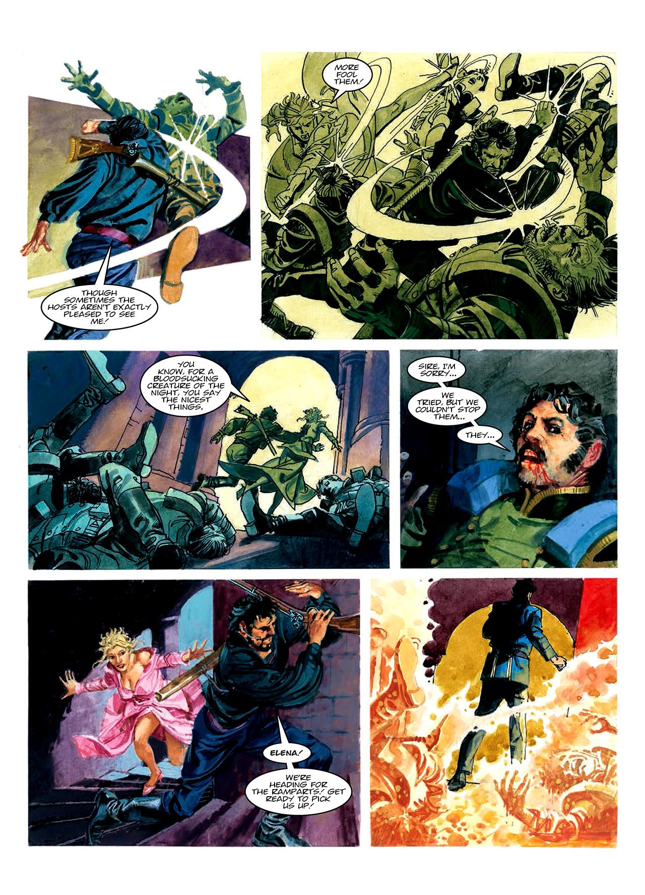 Read online Nikolai Dante comic -  Issue # TPB 10 - 176