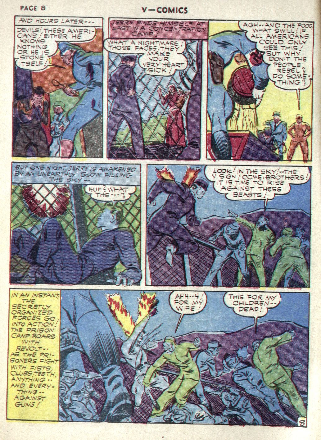 Read online V...- Comics comic -  Issue #1 - 10
