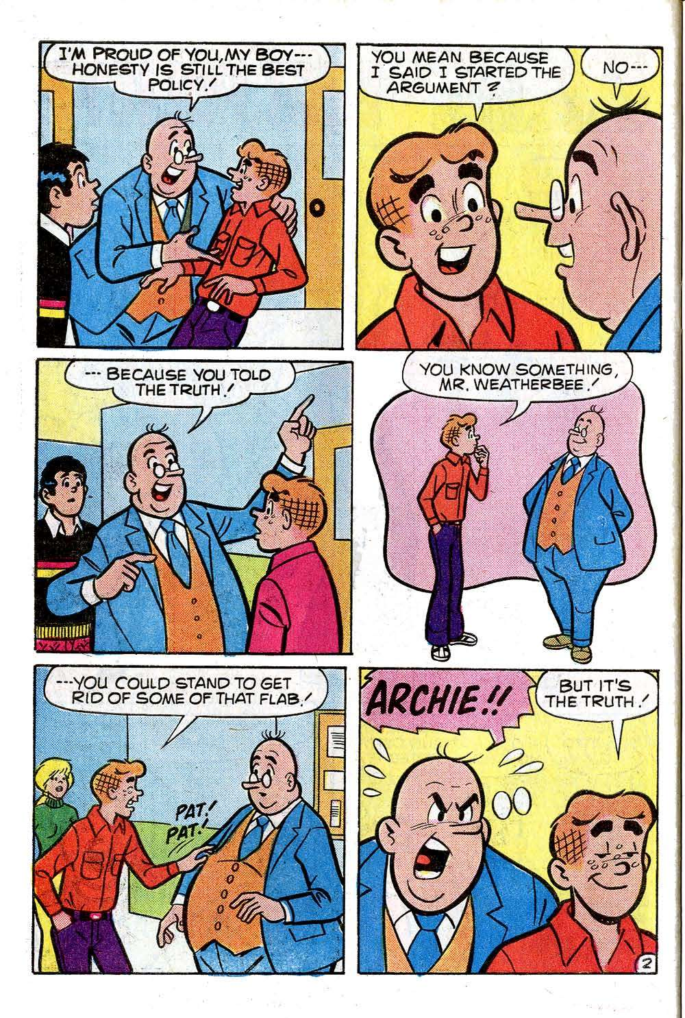 Read online Archie (1960) comic -  Issue #273 - 30