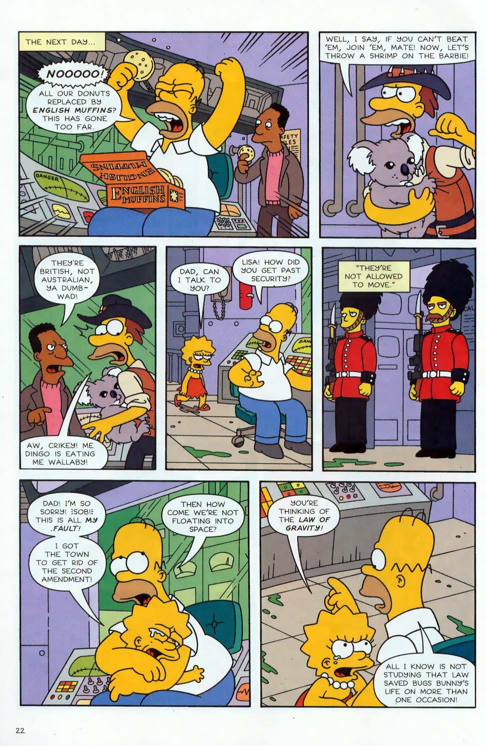 Read online Simpsons Comics comic -  Issue #87 - 23