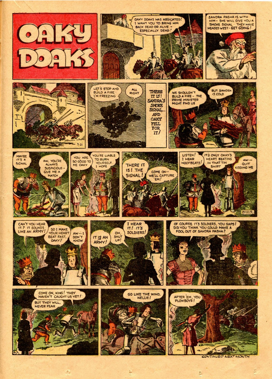 Read online Famous Funnies comic -  Issue #67 - 40