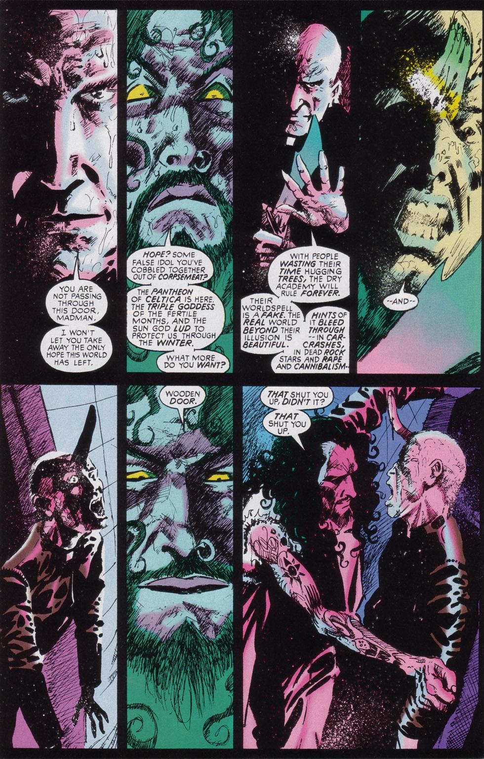 Read online Druid comic -  Issue #3 - 17