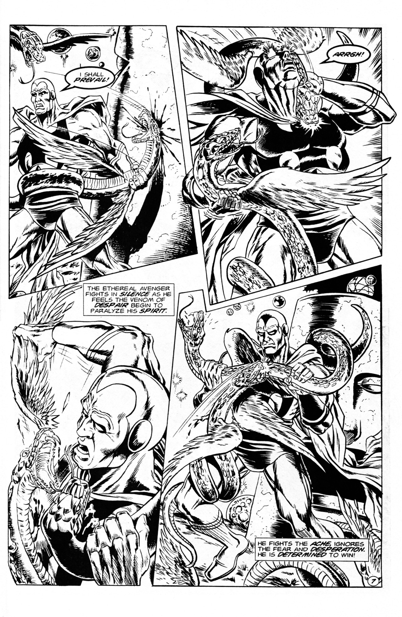 Read online Dr. Weird (1994) comic -  Issue #1 - 9