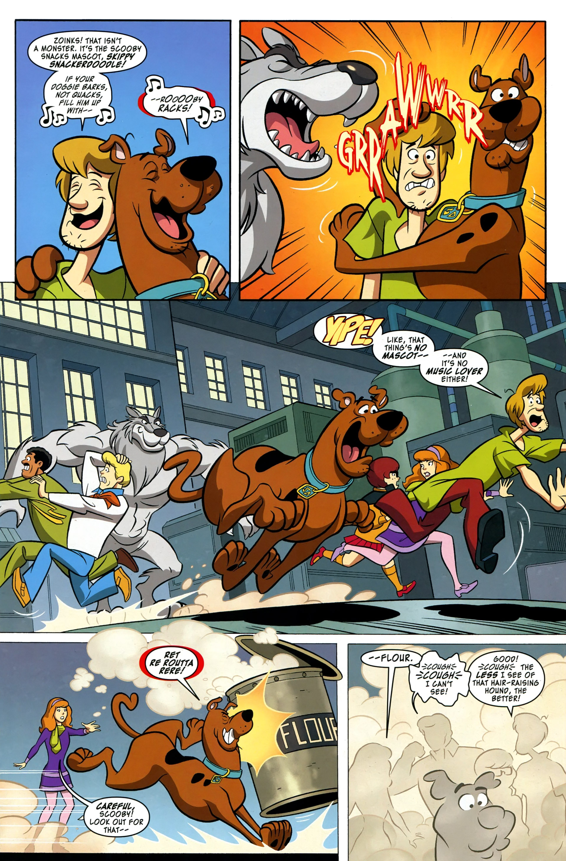 Read online Scooby-Doo: Where Are You? comic -  Issue #37 - 5